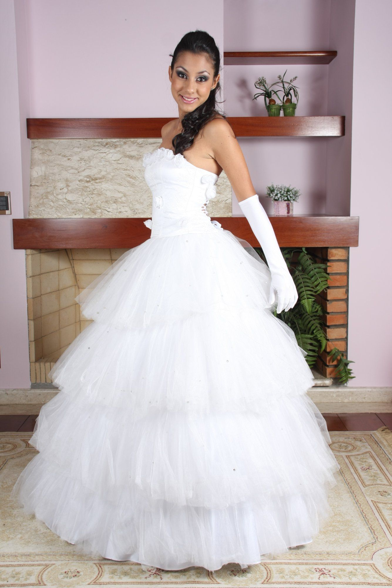 Vestido de Debutante Branco em Campinas 1 - Hipnose Alta Costura e ...