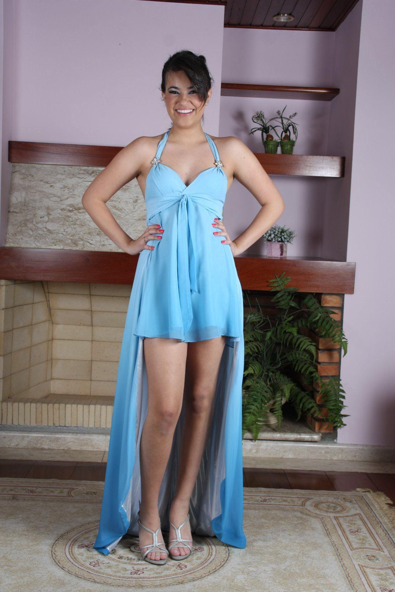 Vestido de Debutante Azul - 1 - Hipnose Alta Costura e Spa para Noivas e Noivos - Campinas - SP Vestido de Debutante, Vestido de Debutante Azul, Hipnose Alta Costura