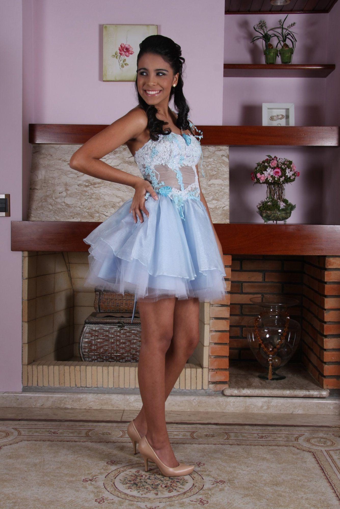 Vestido de Debutante Azul - 11 - Hipnose Alta Costura e Spa para Noivas e Noivos - Campinas - SP Vestido de Debutante, Vestido de Debutante Azul, Hipnose Alta Costura