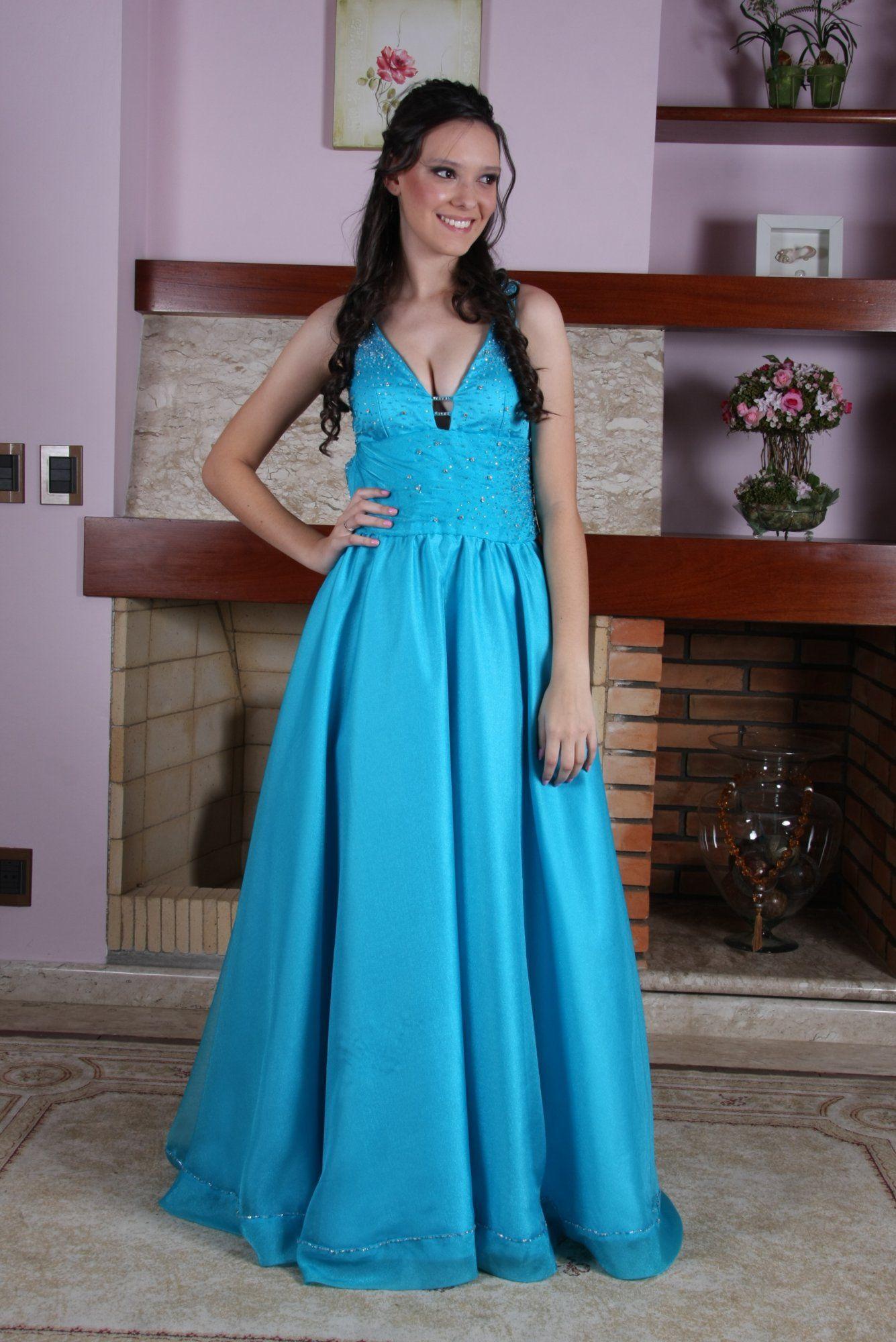 Vestido de Debutante Azul - 13 - Hipnose Alta Costura e Spa para Noivas e Noivos - Campinas - SP Vestido de Debutante, Vestido de Debutante Azul, Hipnose Alta Costura