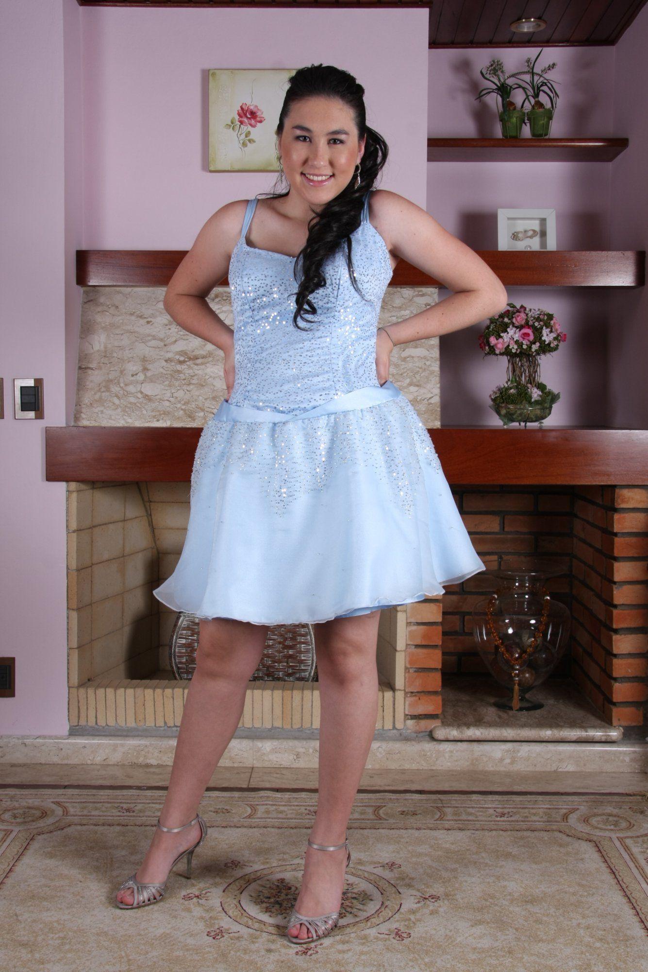 Vestido de Debutante Azul - 14 - Hipnose Alta Costura e Spa para Noivas e Noivos - Campinas - SP Vestido de Debutante, Vestido de Debutante Azul, Hipnose Alta Costura