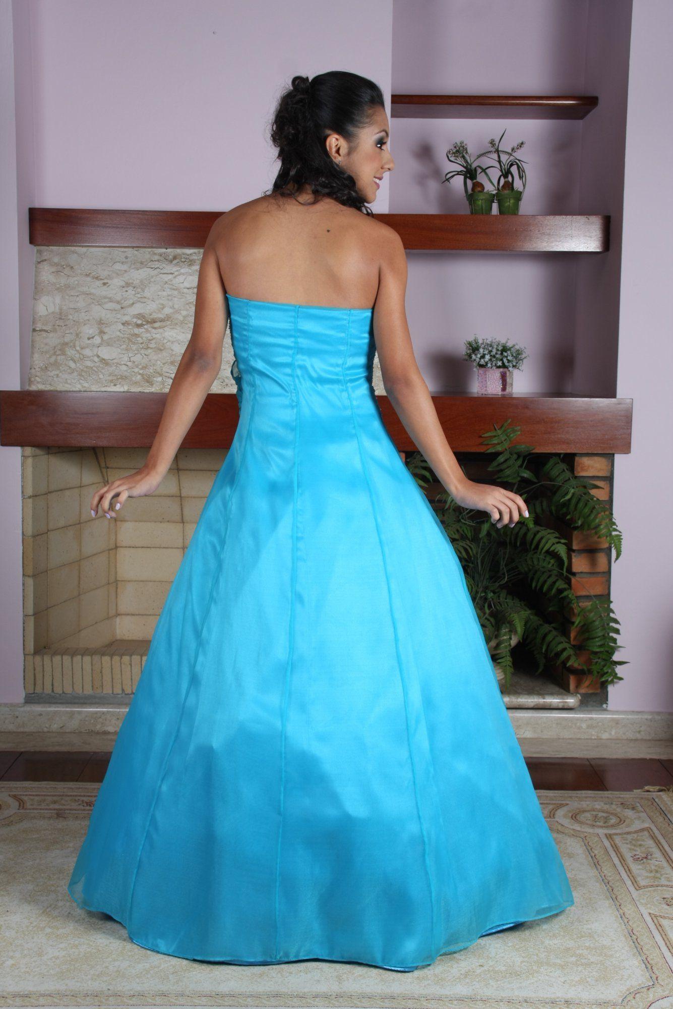 Vestido de Debutante Azul - 2 - Hipnose Alta Costura e Spa para Noivas e Noivos - Campinas - SP Vestido de Debutante, Vestido de Debutante Azul, Hipnose Alta Costura