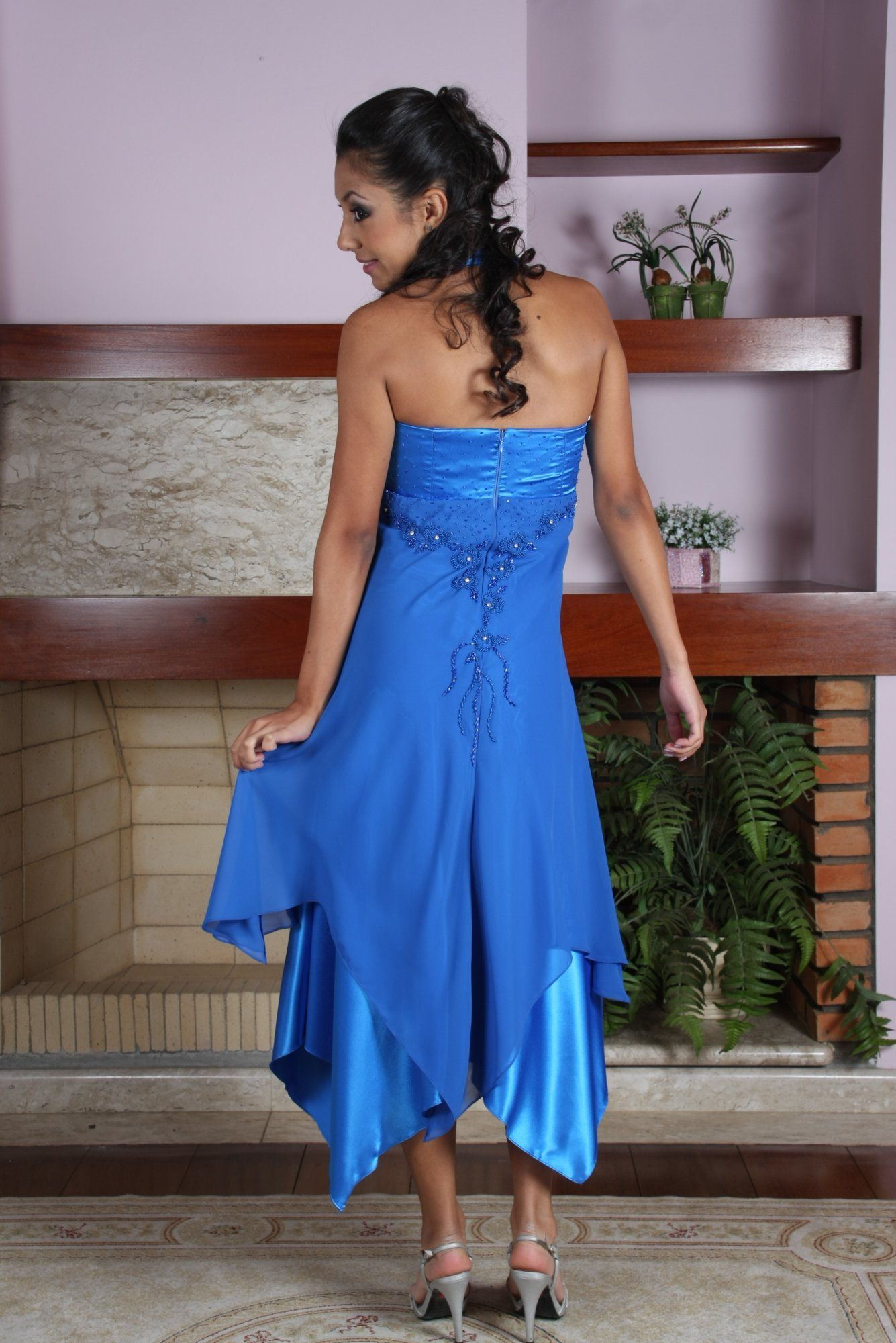 Vestido de Debutante Azul - 4 - Hipnose Alta Costura e Spa para Noivas e Noivos - Campinas - SP Vestido de Debutante, Vestido de Debutante Azul, Hipnose Alta Costura