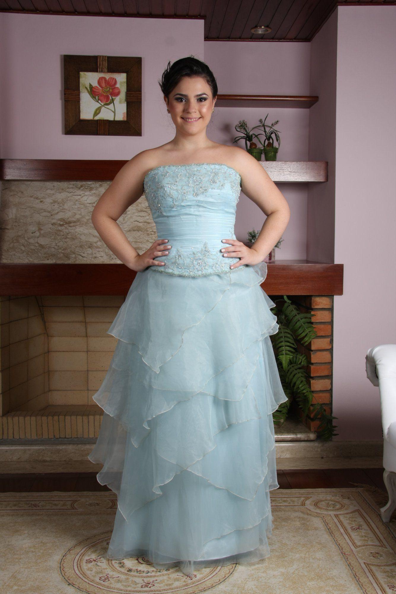 Vestido de Debutante Azul - 6 - Hipnose Alta Costura e Spa para Noivas e Noivos - Campinas - SP Vestido de Debutante, Vestido de Debutante Azul, Hipnose Alta Costura