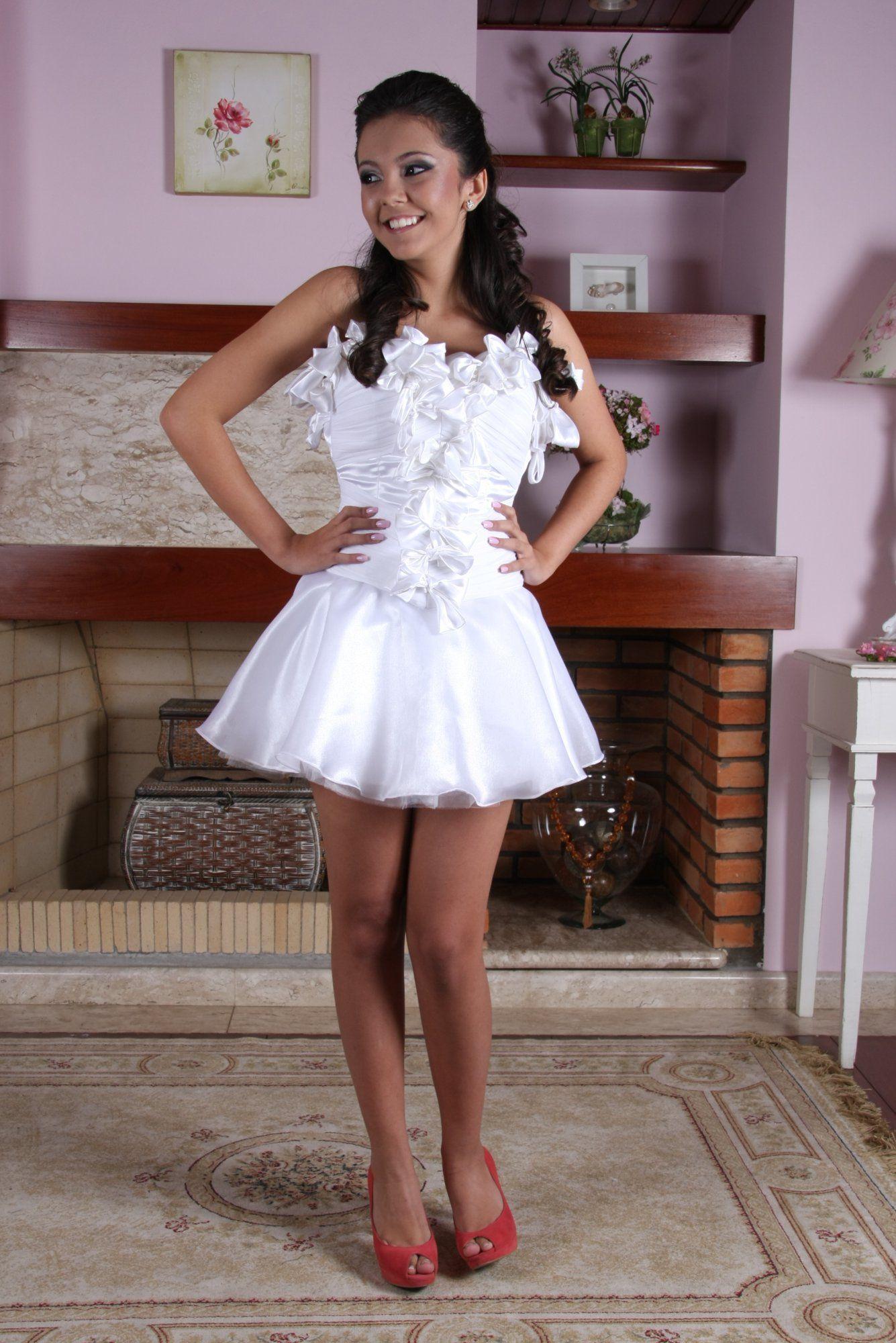 Vestido de Debutante Branco - 10 - Hipnose Alta Costura e Spa para Noivas e Noivos - Campinas - SP Vestido de Debutante, Vestido de Debutante Branco, Hipnose Alta Costura
