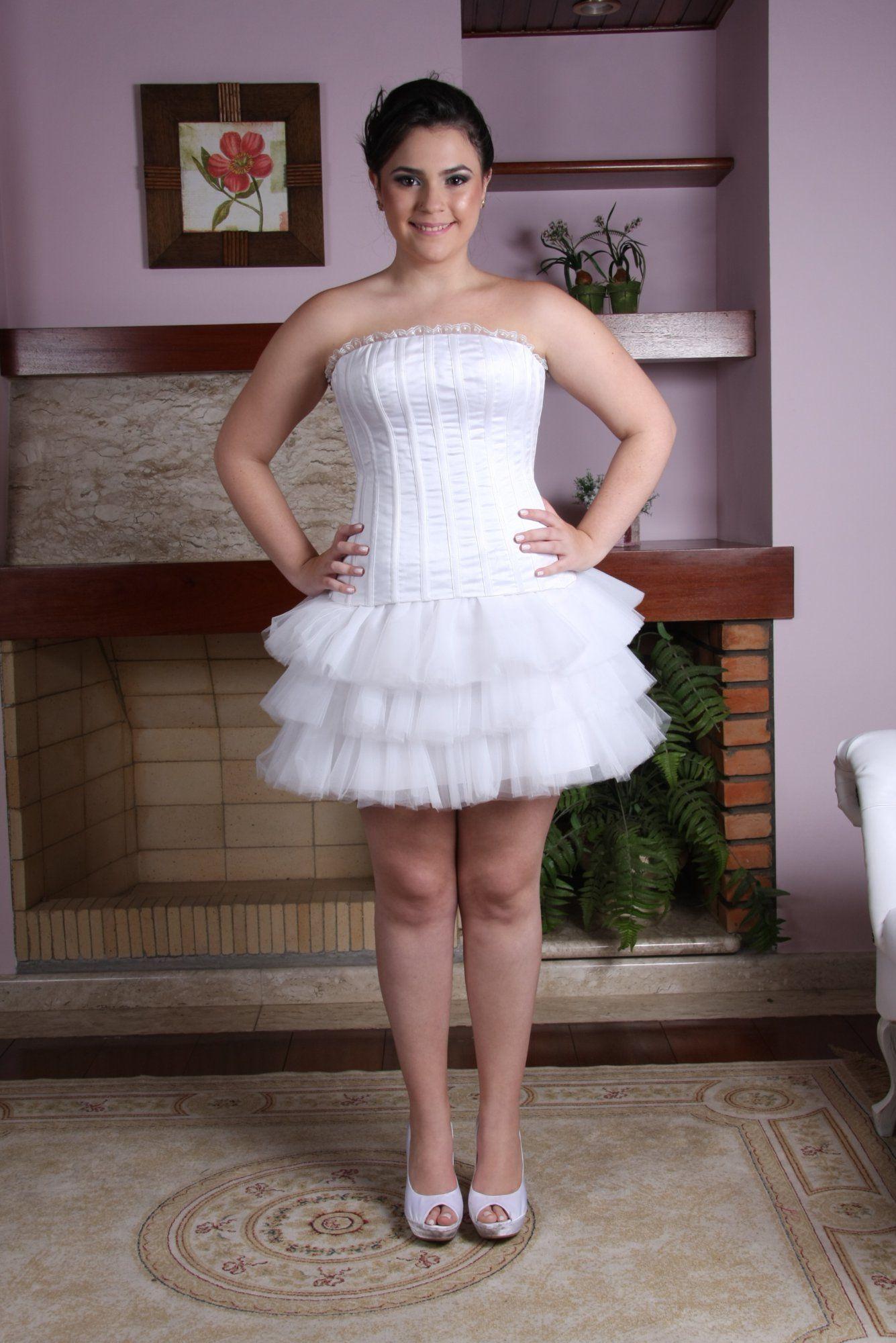 Vestido de Debutante Branco - 3 - Hipnose Alta Costura e Spa para Noivas e Noivos - Campinas - SP Vestido de Debutante, Vestido de Debutante Branco, Hipnose Alta Costura