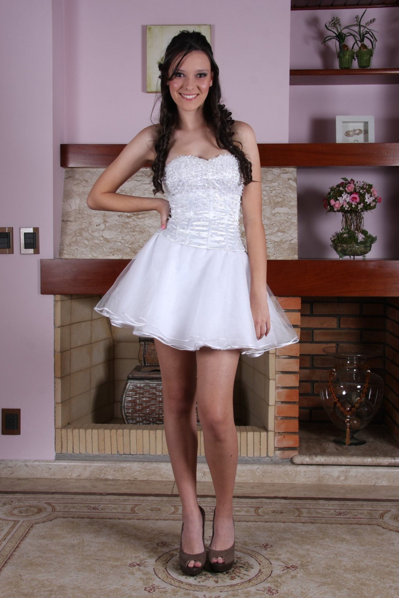 Vestido de Debutante Branco - 5 - Hipnose Alta Costura e Spa para Noivas e Noivos - Campinas - SP Vestido de Debutante, Vestido de Debutante Branco, Hipnose Alta Costura
