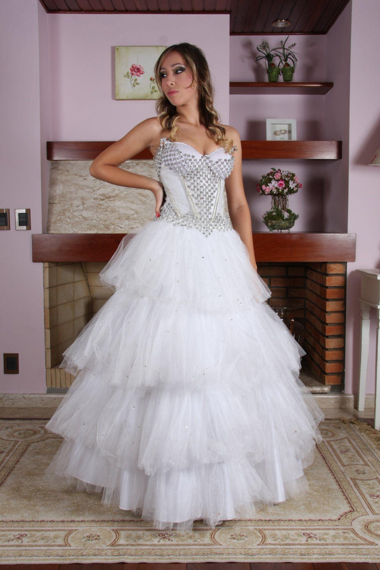 Vestido de Debutante Branco - 6 - Hipnose Alta Costura e Spa para Noivas e Noivos - Campinas - SP Vestido de Debutante, Vestido de Debutante Branco, Hipnose Alta Costura