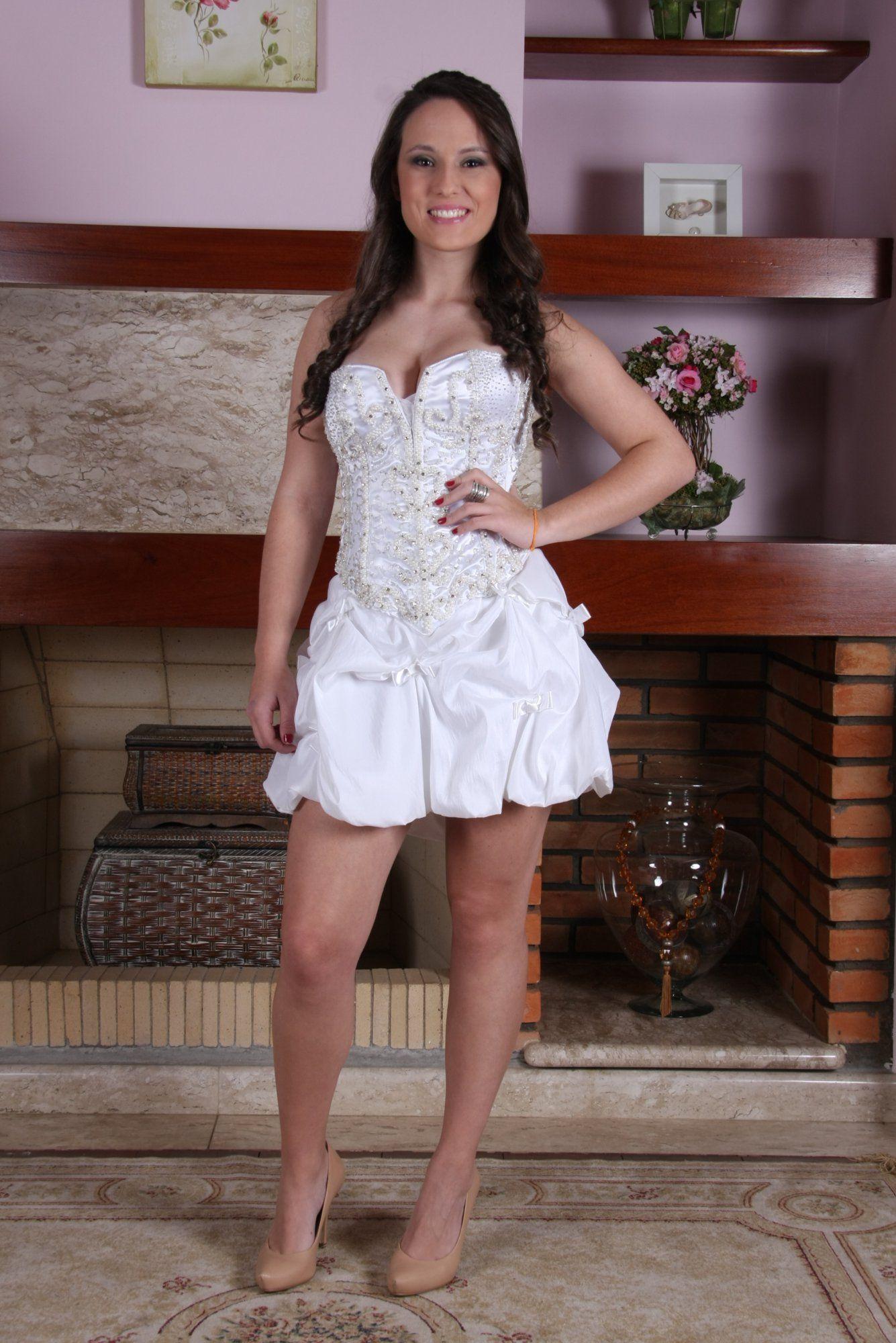 Vestido de Debutante Branco - 7 - Hipnose Alta Costura e Spa para Noivas e Noivos - Campinas - SP Vestido de Debutante, Vestido de Debutante Branco, Hipnose Alta Costura