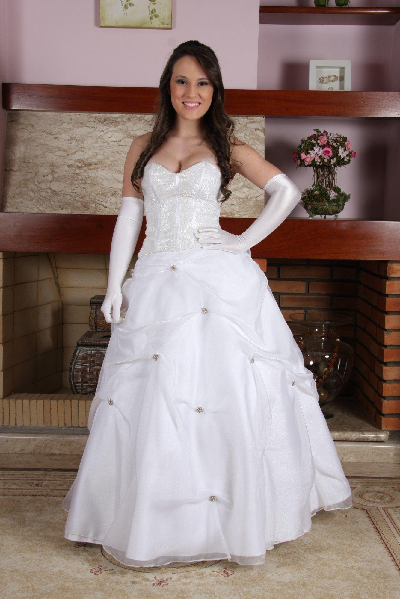 Vestido de Debutante Branco - 8 - Hipnose Alta Costura e Spa para Noivas e Noivos - Campinas - SP Vestido de Debutante, Vestido de Debutante Branco, Hipnose Alta Costura