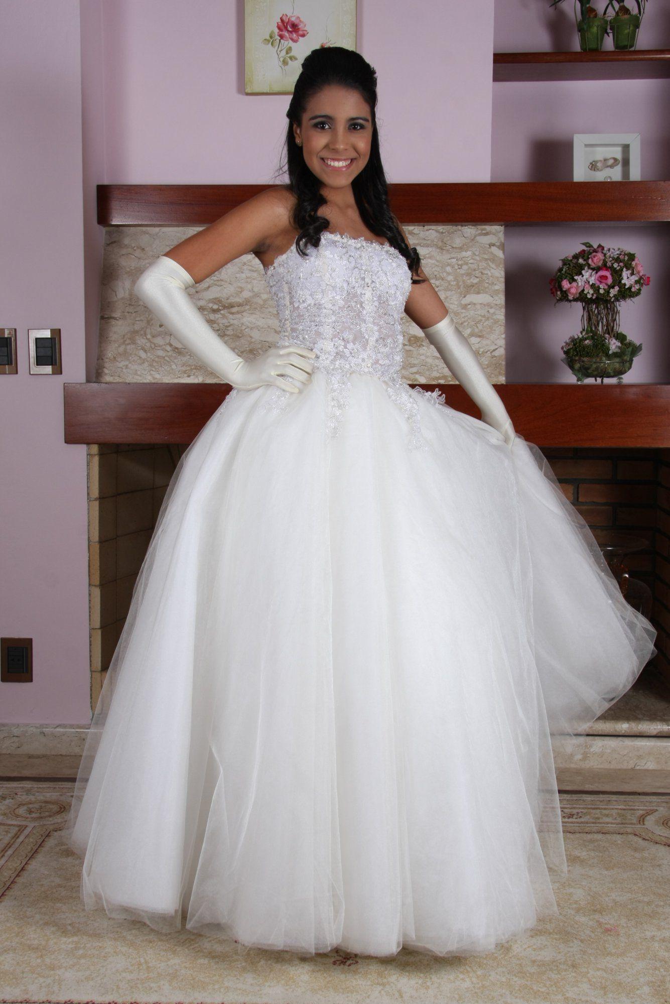 Vestido de Debutante Branco - 9 - Hipnose Alta Costura e Spa para Noivas e Noivos - Campinas - SP Vestido de Debutante, Vestido de Debutante Branco, Hipnose Alta Costura