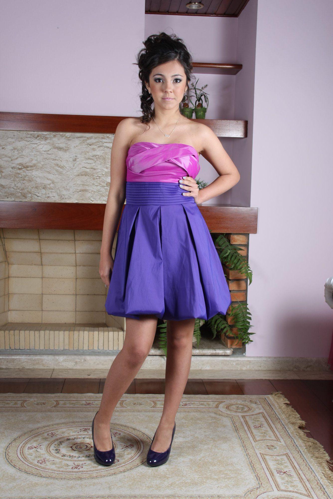 Vestido de Debutante Lilas - 1 - Hipnose Alta Costura e Spa para Noivas e Noivos - Campinas - SP Vestido de Debutante, Vestido de Debutante Lilas, Hipnose Alta Costura