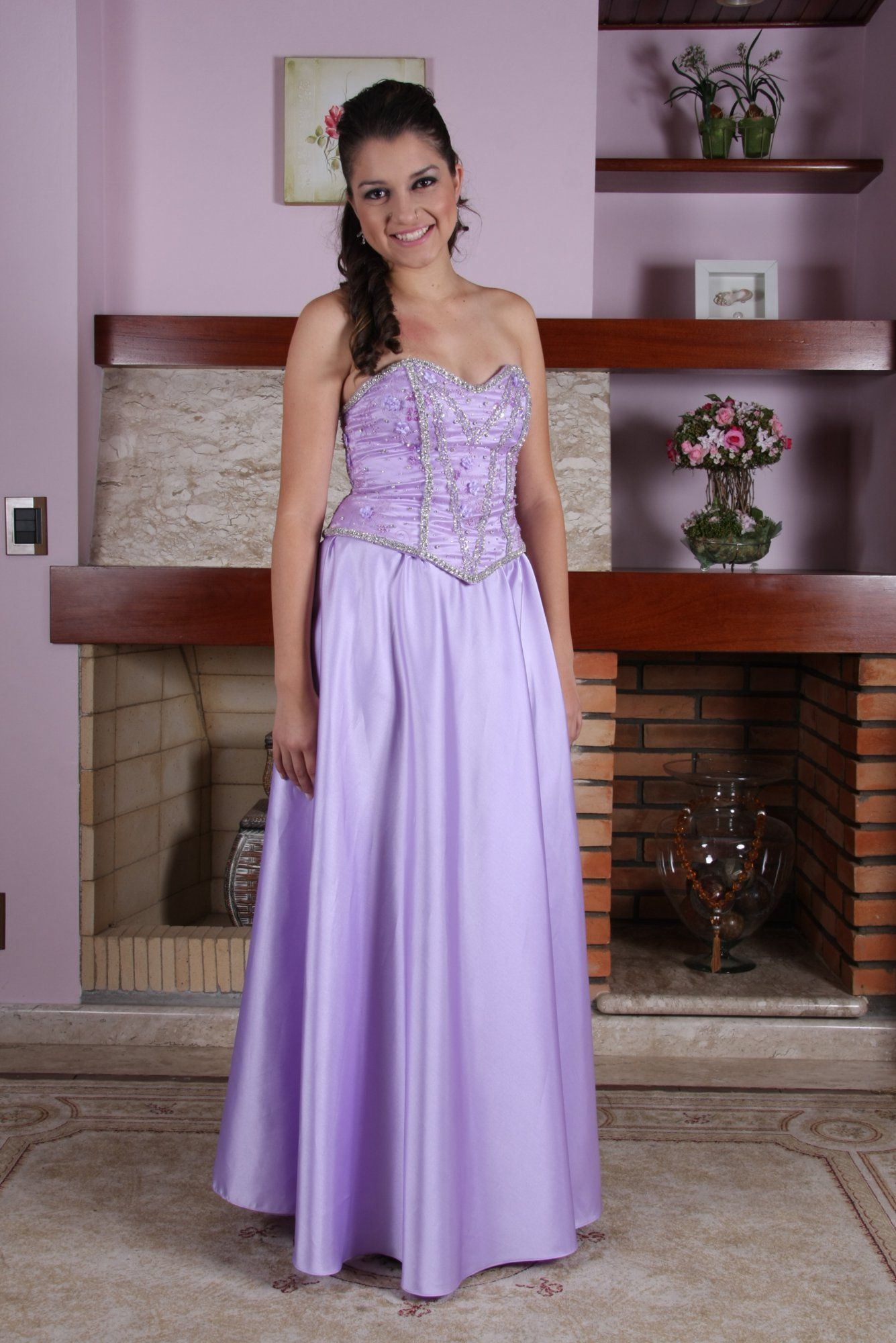 Vestido de Debutante Lilas - 10 - Hipnose Alta Costura e Spa para Noivas e Noivos - Campinas - SP Vestido de Debutante, Vestido de Debutante Lilas, Hipnose Alta Costura