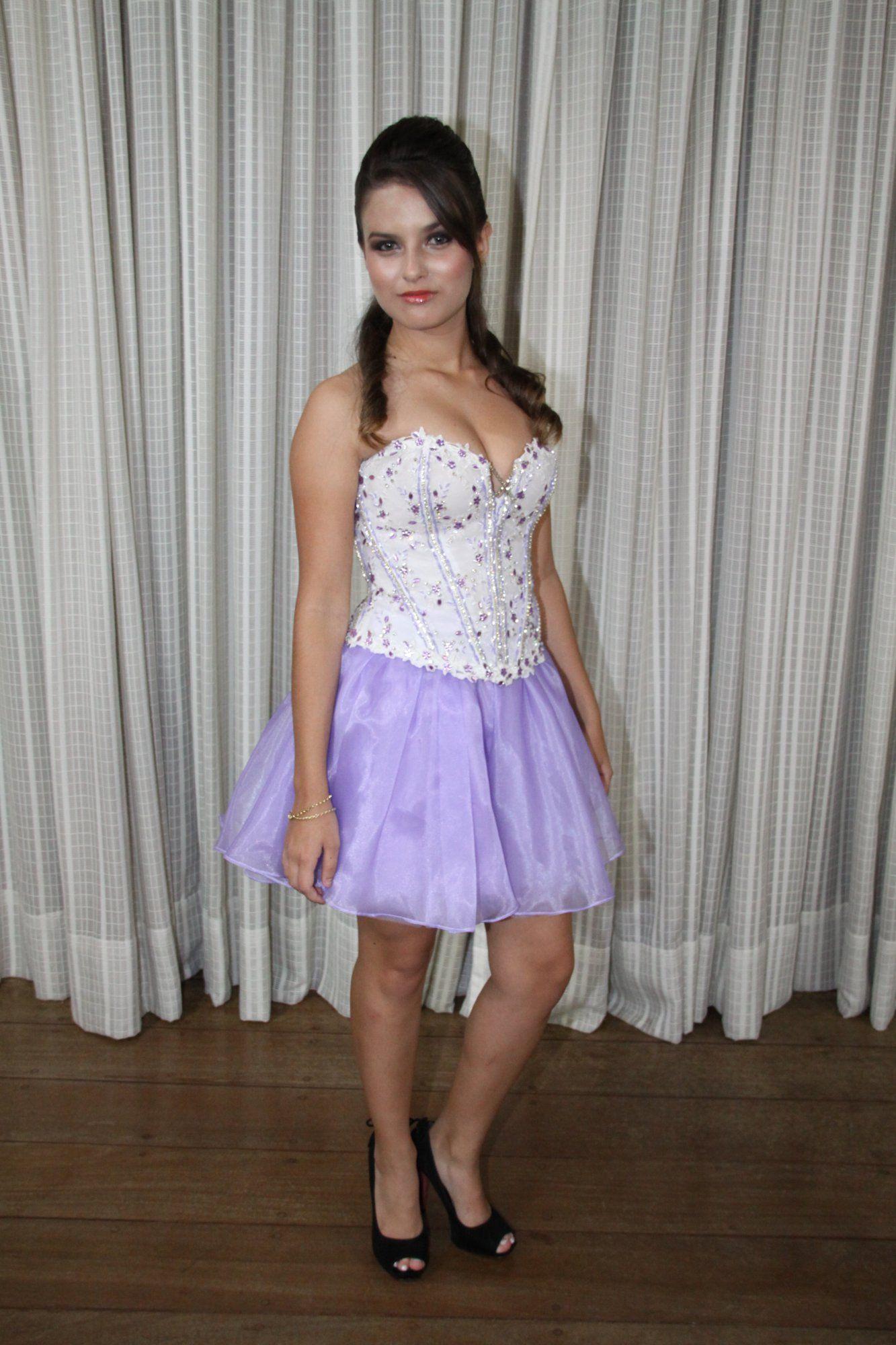 Vestido de Debutante Lilas - 2 - Hipnose Alta Costura e Spa para Noivas e Noivos - Campinas - SP Vestido de Debutante, Vestido de Debutante Lilas, Hipnose Alta Costura