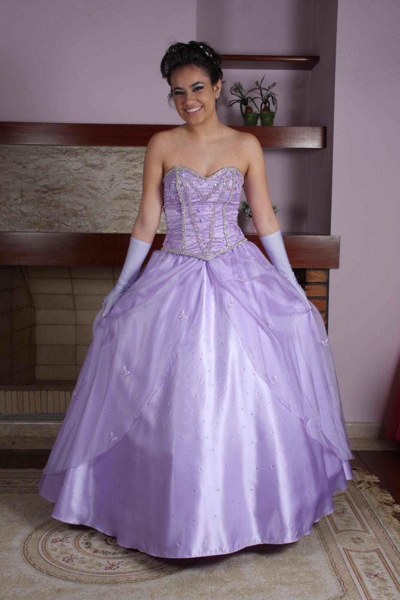 Vestido de Debutante Lilas - 5 - Hipnose Alta Costura e Spa para Noivas e Noivos - Campinas - SP Vestido de Debutante, Vestido de Debutante Lilas, Hipnose Alta Costura