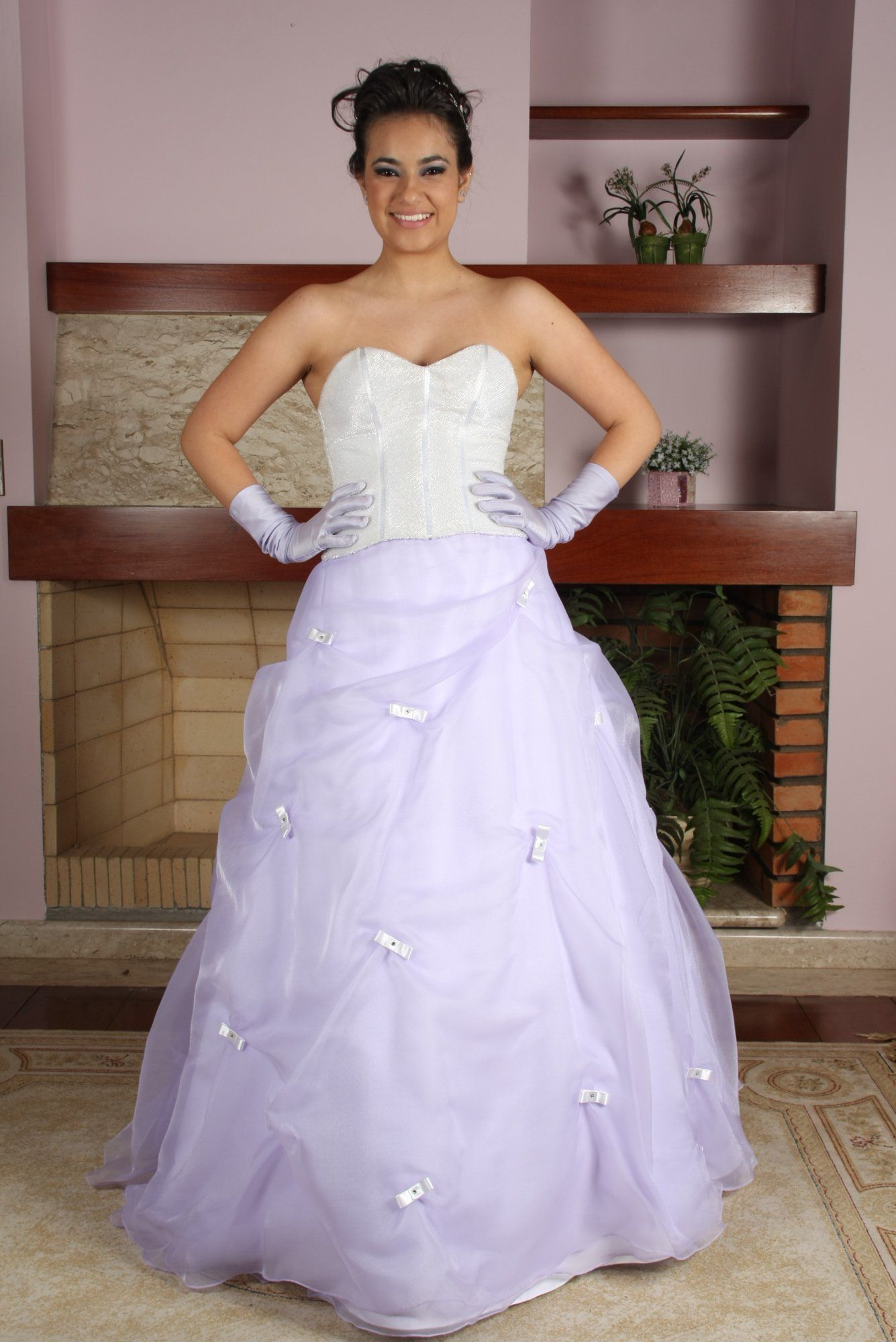 Vestido de Debutante Lilas - 6 - Hipnose Alta Costura e Spa para Noivas e Noivos - Campinas - SP Vestido de Debutante, Vestido de Debutante Lilas, Hipnose Alta Costura