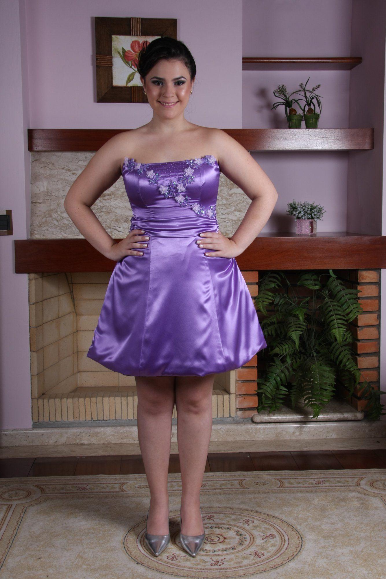 Vestido de Debutante Lilas - 7 - Hipnose Alta Costura e Spa para Noivas e Noivos - Campinas - SP Vestido de Debutante, Vestido de Debutante Lilas, Hipnose Alta Costura