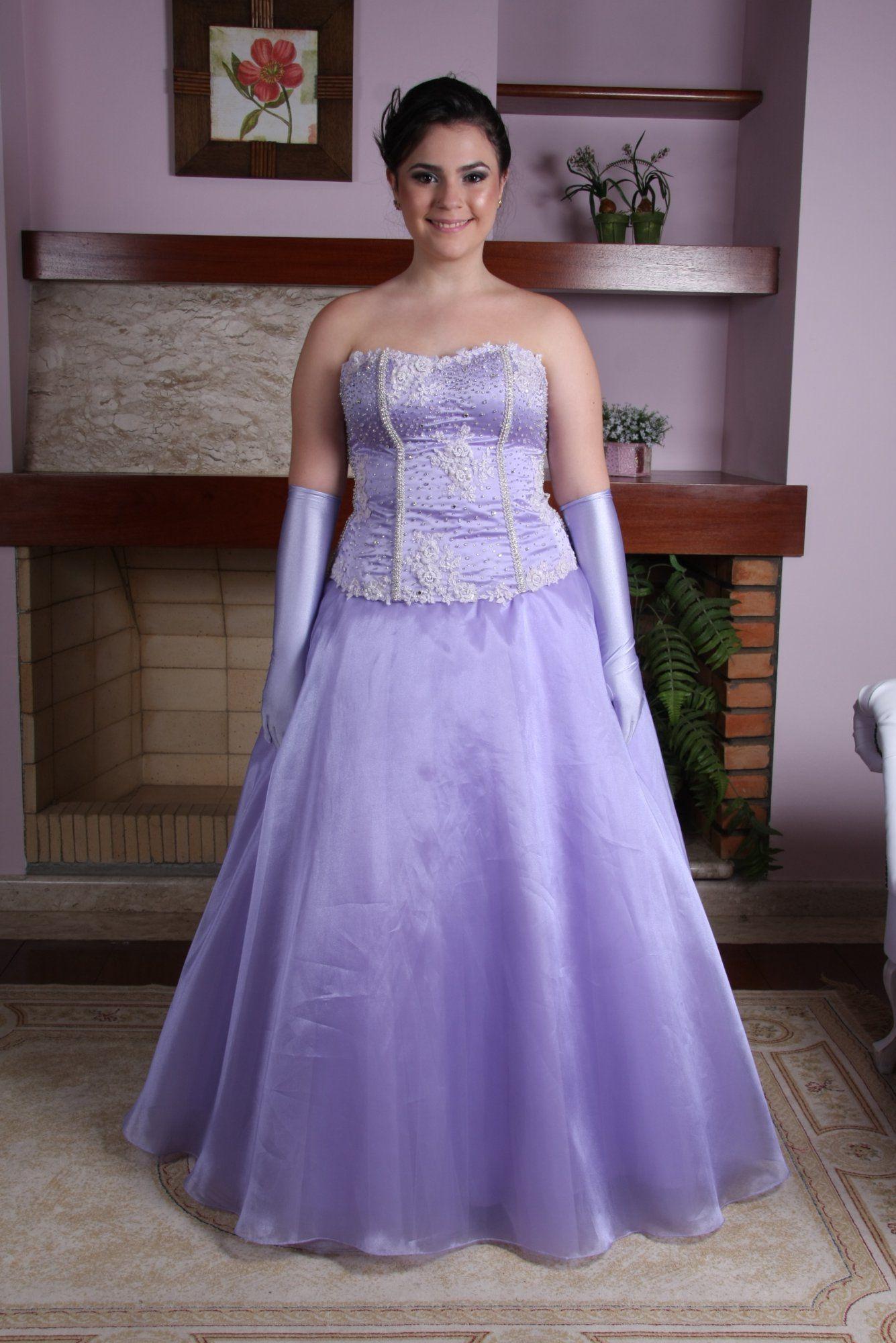 2cb862bba Vestido de Debutante Lilas em Campinas 8 - Hipnose Alta Costura e ...