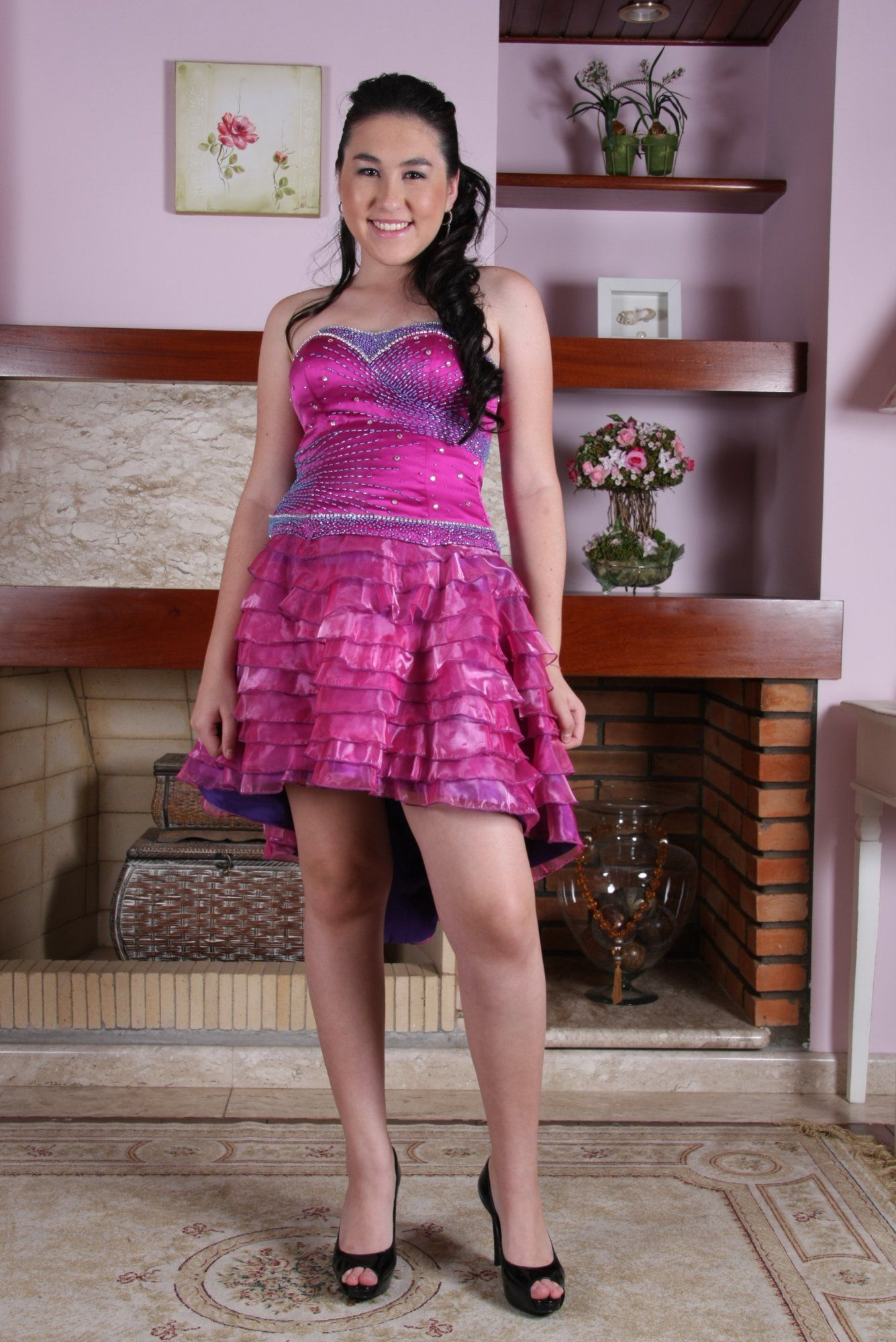 Vestido de Debutante Pink - 17 - Hipnose Alta Costura e Spa para Noivas e Noivos - Campinas - SP Vestido de Debutante, Vestido de Debutante Pink, Hipnose Alta Costura