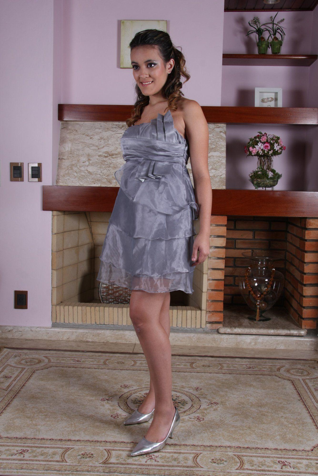 Vestido de Debutante Prata - 1 - Hipnose Alta Costura e Spa para Noivas e Noivos - Campinas - SP Vestido de Debutante, Vestido de Debutante Prata, Hipnose Alta Costura