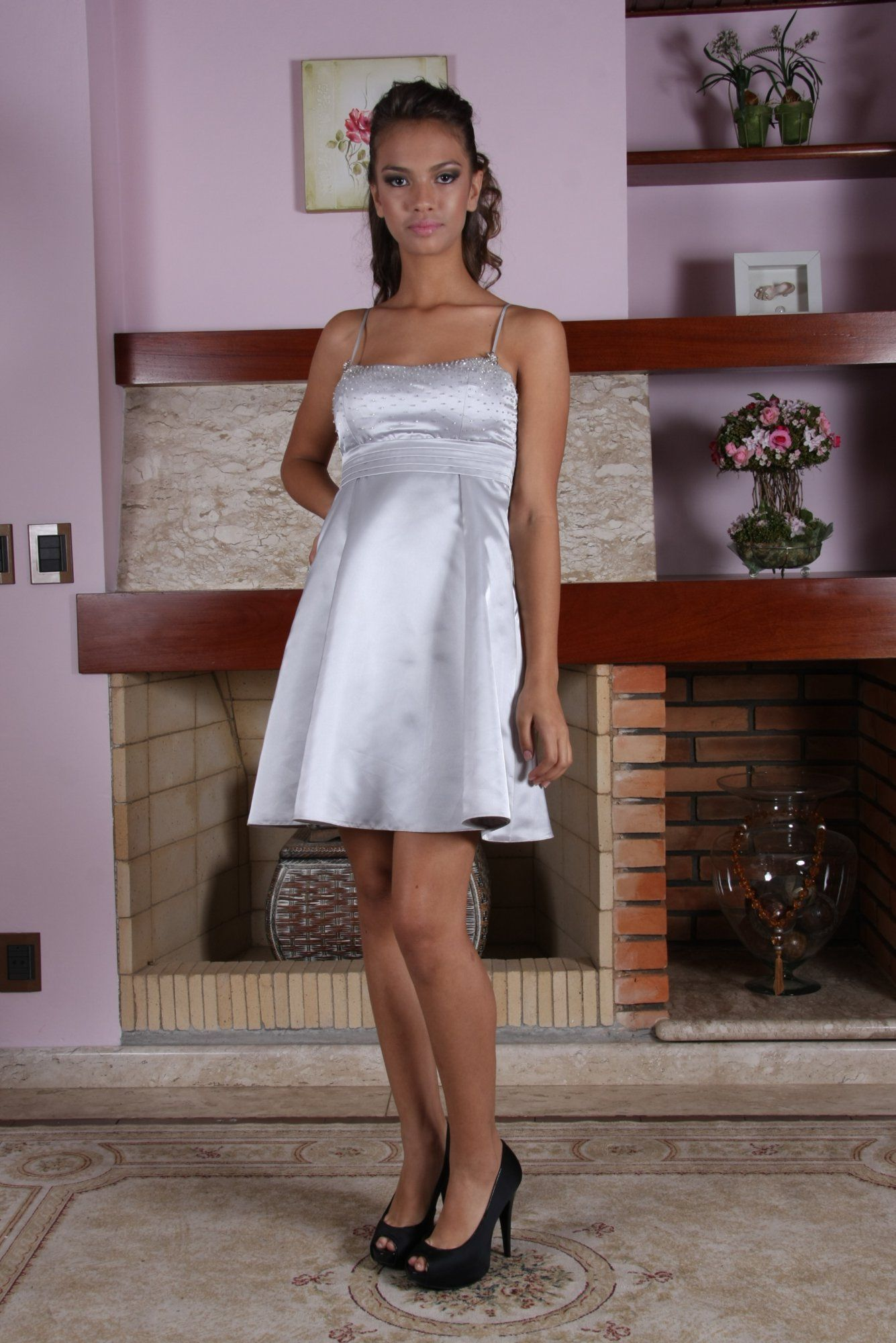 Vestido de Debutante Prata - 2 - Hipnose Alta Costura e Spa para Noivas e Noivos - Campinas - SP Vestido de Debutante, Vestido de Debutante Prata, Hipnose Alta Costura
