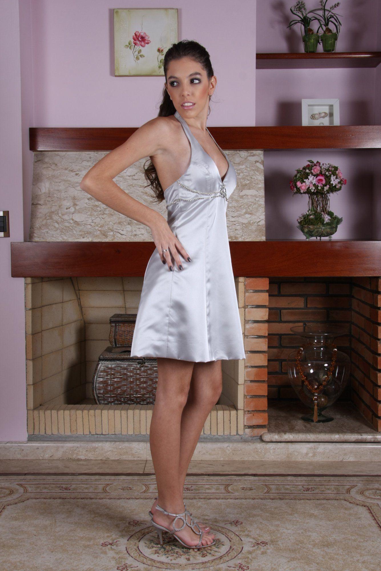 Vestido de Debutante Prata - 3 - Hipnose Alta Costura e Spa para Noivas e Noivos - Campinas - SP Vestido de Debutante, Vestido de Debutante Prata, Hipnose Alta Costura