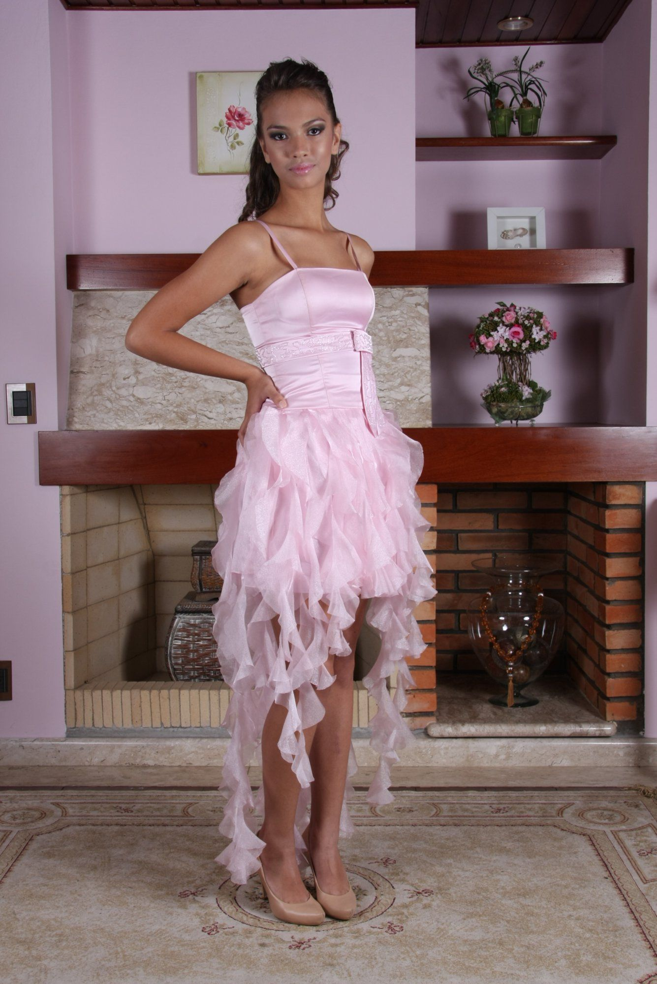 Vestido de Debutante Rosa - 11 - Hipnose Alta Costura e Spa para Noivas e Noivos - Campinas - SP Vestido de Debutante, Vestido de Debutante Rosa, Hipnose Alta Costura