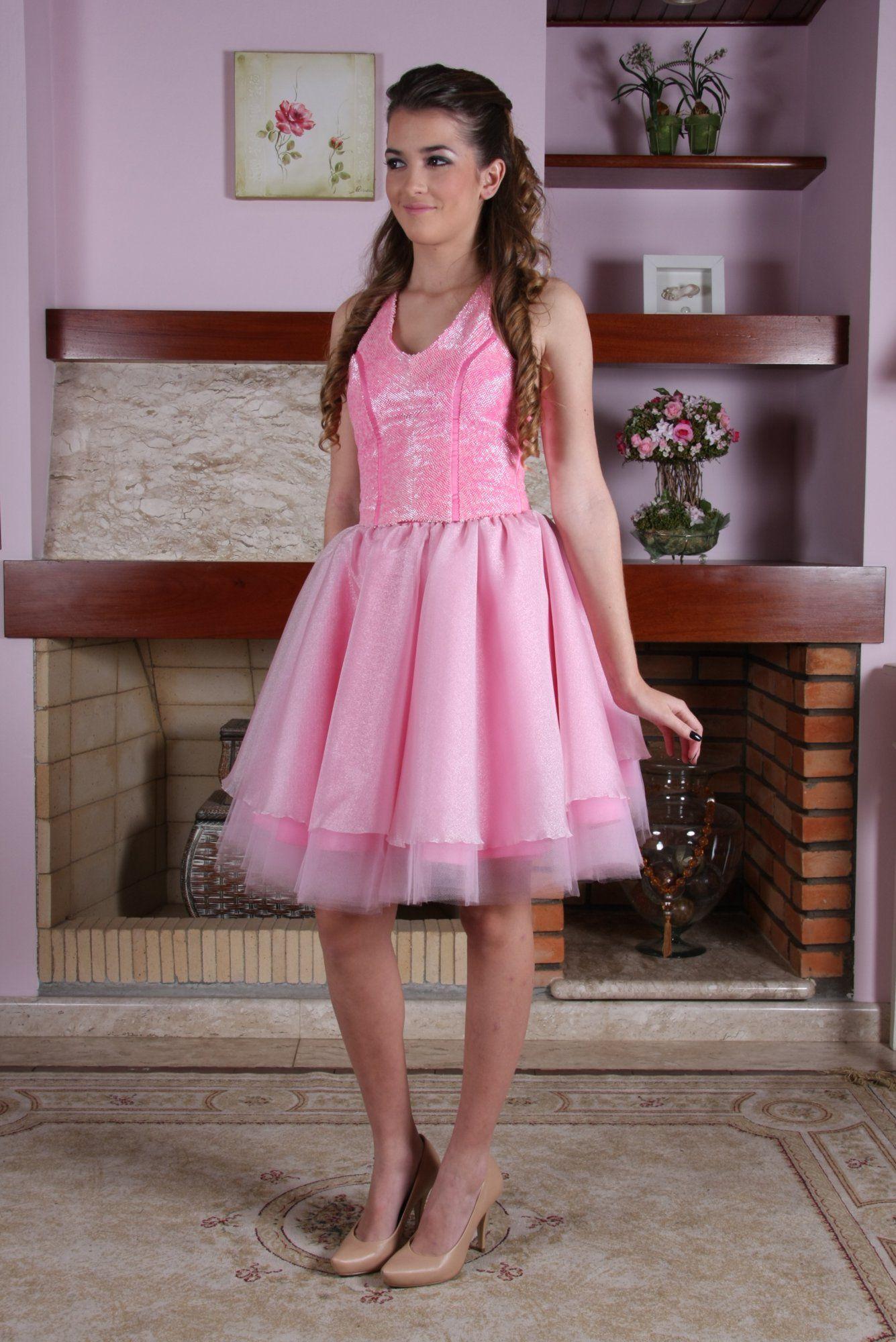 Vestido de Debutante Rosa - 12 - Hipnose Alta Costura e Spa para Noivas e Noivos - Campinas - SP Vestido de Debutante, Vestido de Debutante Rosa, Hipnose Alta Costura