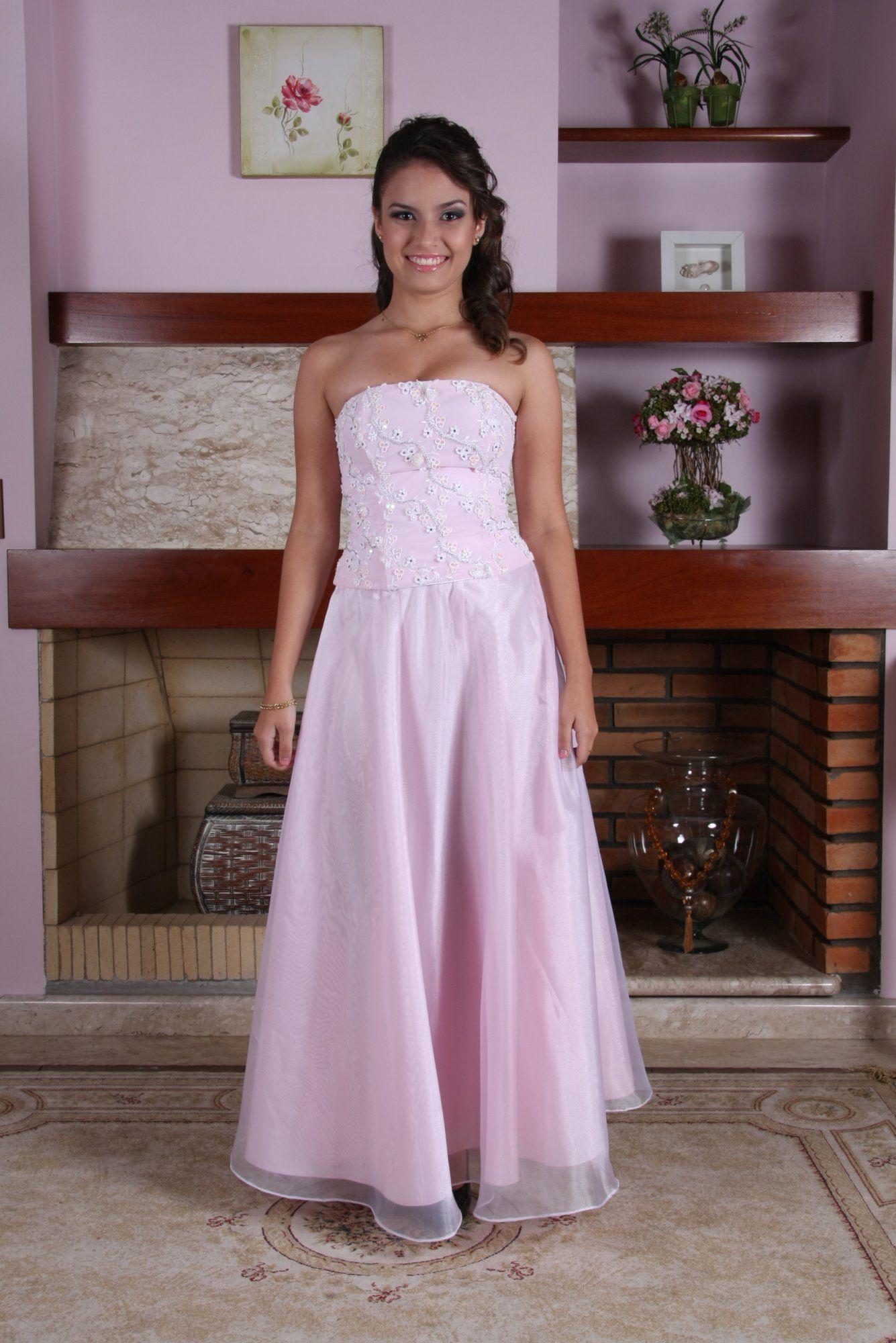 Vestido de Debutante Rosa - 14 - Hipnose Alta Costura e Spa para Noivas e Noivos - Campinas - SP Vestido de Debutante, Vestido de Debutante Rosa, Hipnose Alta Costura