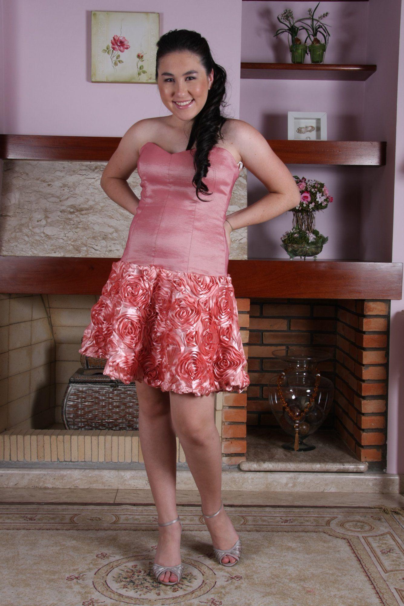 Vestido de Debutante Rosa - 18 - Hipnose Alta Costura e Spa para Noivas e Noivos - Campinas - SP Vestido de Debutante, Vestido de Debutante Rosa, Hipnose Alta Costura
