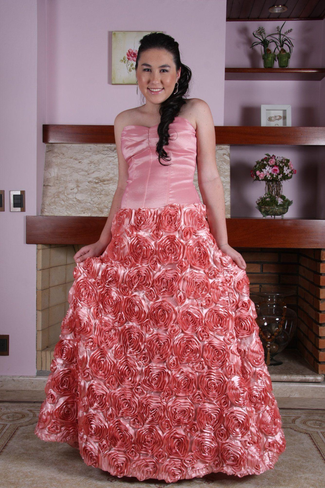 Vestido de Debutante Rosa - 19 - Hipnose Alta Costura e Spa para Noivas e Noivos - Campinas - SP Vestido de Debutante, Vestido de Debutante Rosa, Hipnose Alta Costura