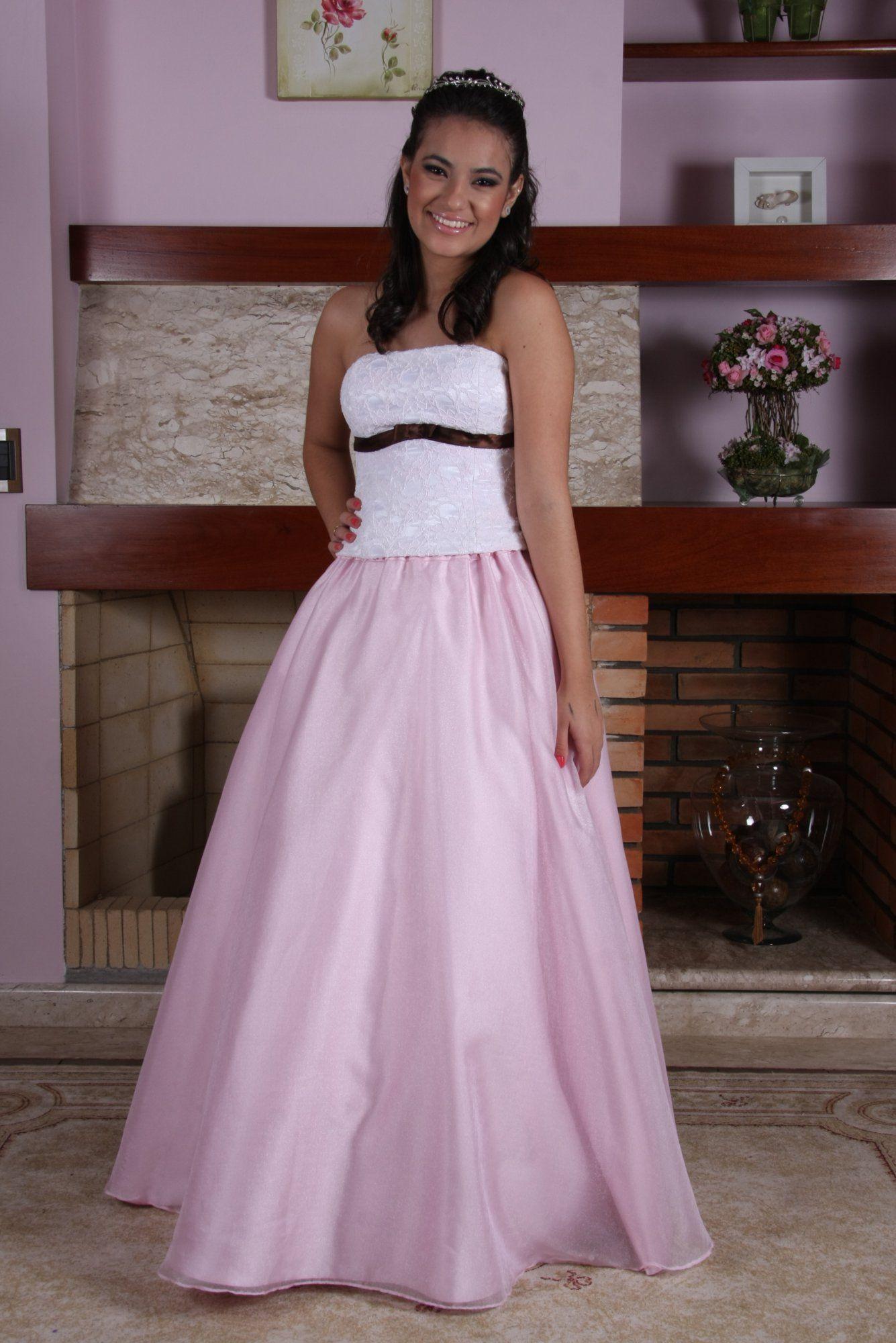 Vestido de Debutante Rosa - 24 - Hipnose Alta Costura e Spa para Noivas e Noivos - Campinas - SP Vestido de Debutante, Vestido de Debutante Rosa, Hipnose Alta Costura