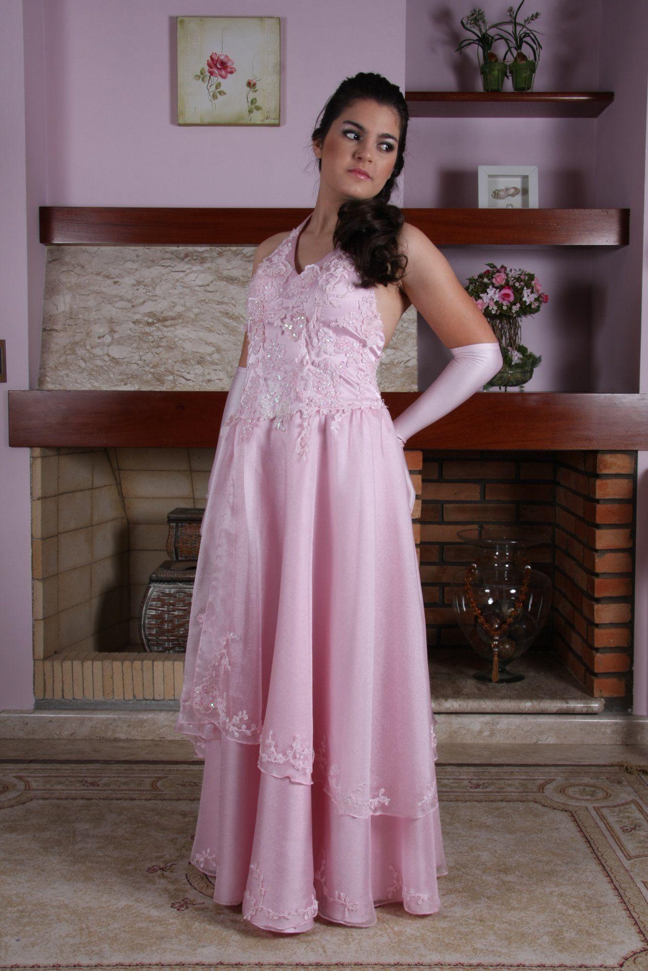 Vestido de Debutante Rosa - 27 - Hipnose Alta Costura e Spa para Noivas e Noivos - Campinas - SP Vestido de Debutante, Vestido de Debutante Rosa, Hipnose Alta Costura