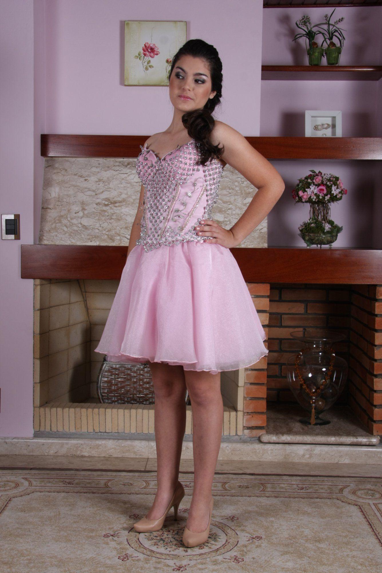 Vestido de Debutante Rosa - 28 - Hipnose Alta Costura e Spa para Noivas e Noivos - Campinas - SP Vestido de Debutante, Vestido de Debutante Rosa, Hipnose Alta Costura