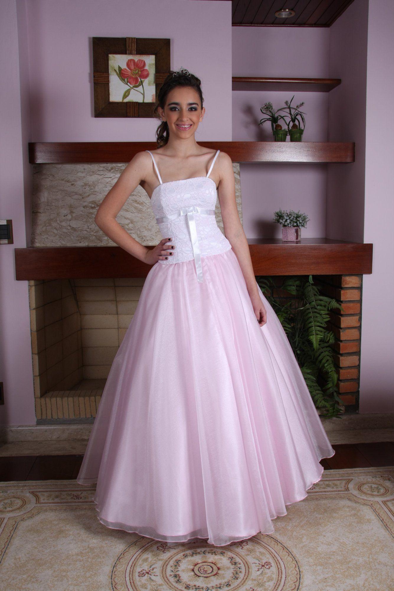 Vestido de Debutante Rosa - 6 - Hipnose Alta Costura e Spa para Noivas e Noivos - Campinas - SP Vestido de Debutante, Vestido de Debutante Rosa, Hipnose Alta Costura
