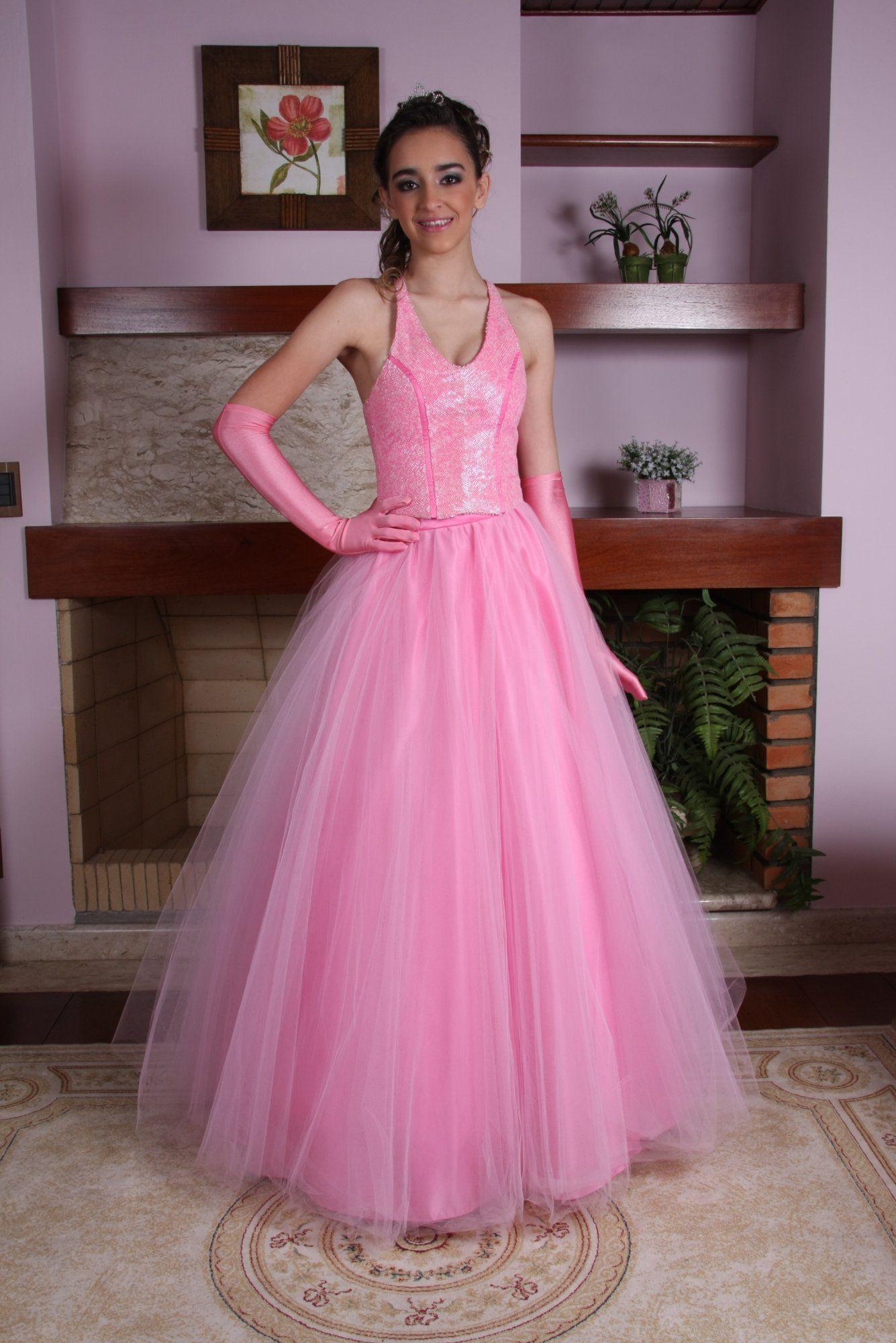 Vestido de Debutante Rosa - 7 - Hipnose Alta Costura e Spa para Noivas e Noivos - Campinas - SP Vestido de Debutante, Vestido de Debutante Rosa, Hipnose Alta Costura