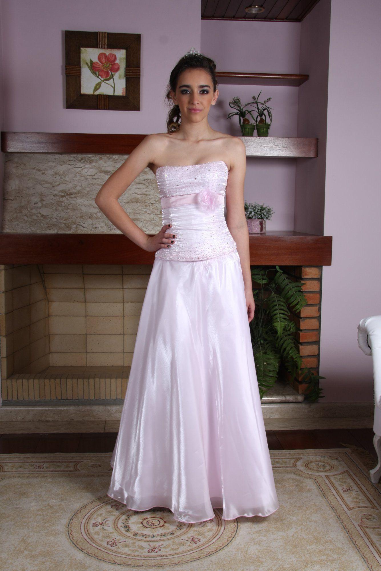 Vestido de Debutante Rosa - 8 - Hipnose Alta Costura e Spa para Noivas e Noivos - Campinas - SP Vestido de Debutante, Vestido de Debutante Rosa, Hipnose Alta Costura