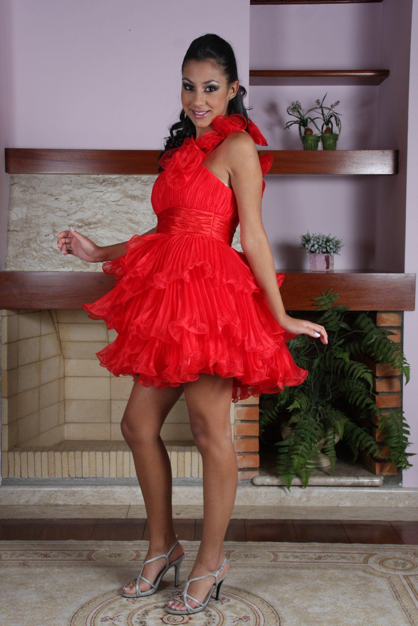 Vestido de Debutante Vermelho - 2 - Hipnose Alta Costura e Spa para Noivas e Noivos - Campinas - SP Vestido de Debutante, Vestido de Debutante Vermelho, Hipnose Alta Costura