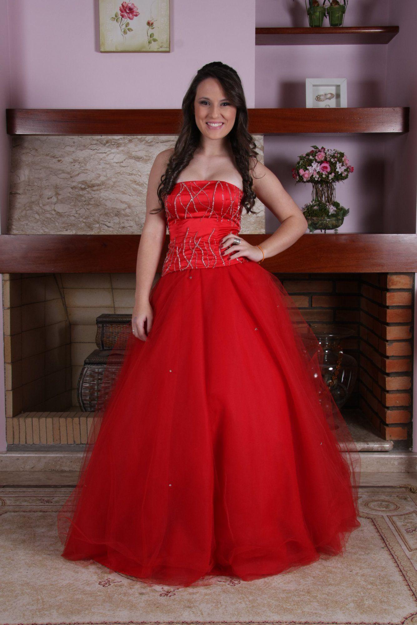 Vestido de Debutante Vermelho - 6 - Hipnose Alta Costura e Spa para Noivas e Noivos - Campinas - SP Vestido de Debutante, Vestido de Debutante Vermelho, Hipnose Alta Costura