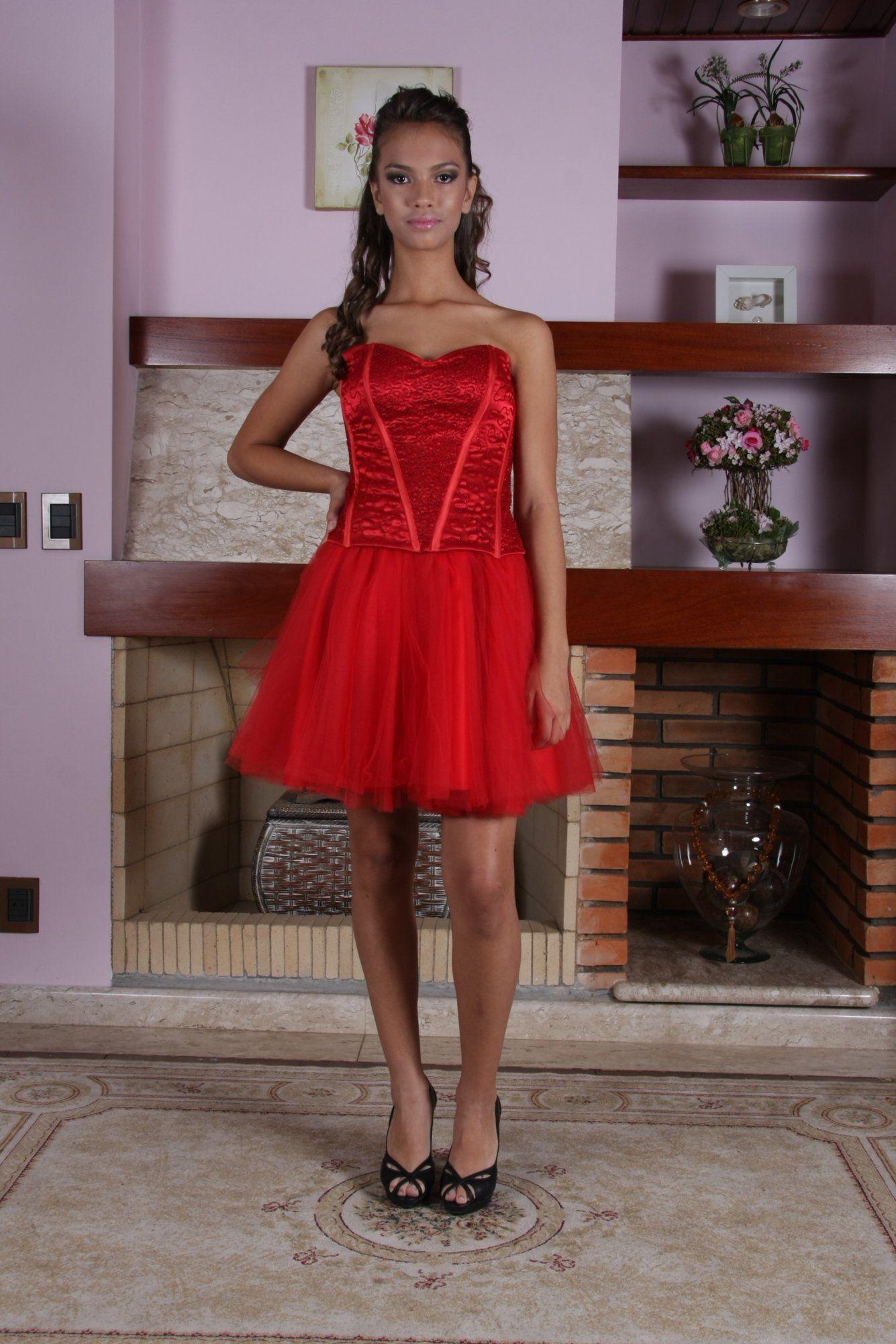 Vestido de Debutante Vermelho - 8 - Hipnose Alta Costura e Spa para Noivas e Noivos - Campinas - SP Vestido de Debutante, Vestido de Debutante Vermelho, Hipnose Alta Costura