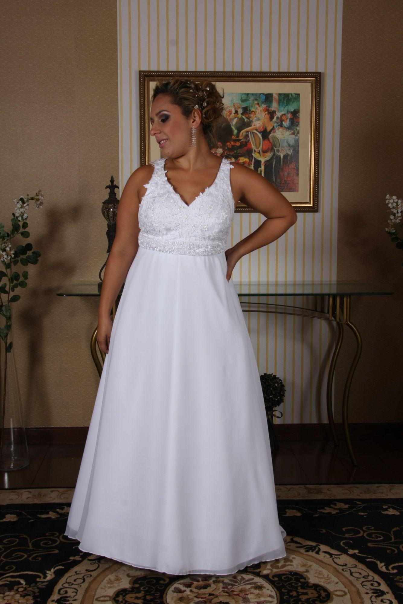 Vestido de Noiva Leve - 10 - Hipnose Alta Costura e Spa para Noivas e Noivos - Campinas - SP Vestido de Noiva, Vestido de Noiva Leve, Hipnose Alta Costura