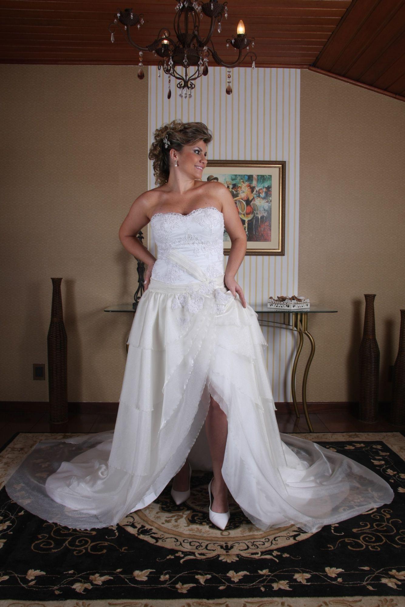 Vestido de Noiva Princesa - 1 - Hipnose Alta Costura e Spa para Noivas e Noivos - Campinas - SP Vestido de Noiva, Vestido de Noiva Princesa, Hipnose Alta Costura