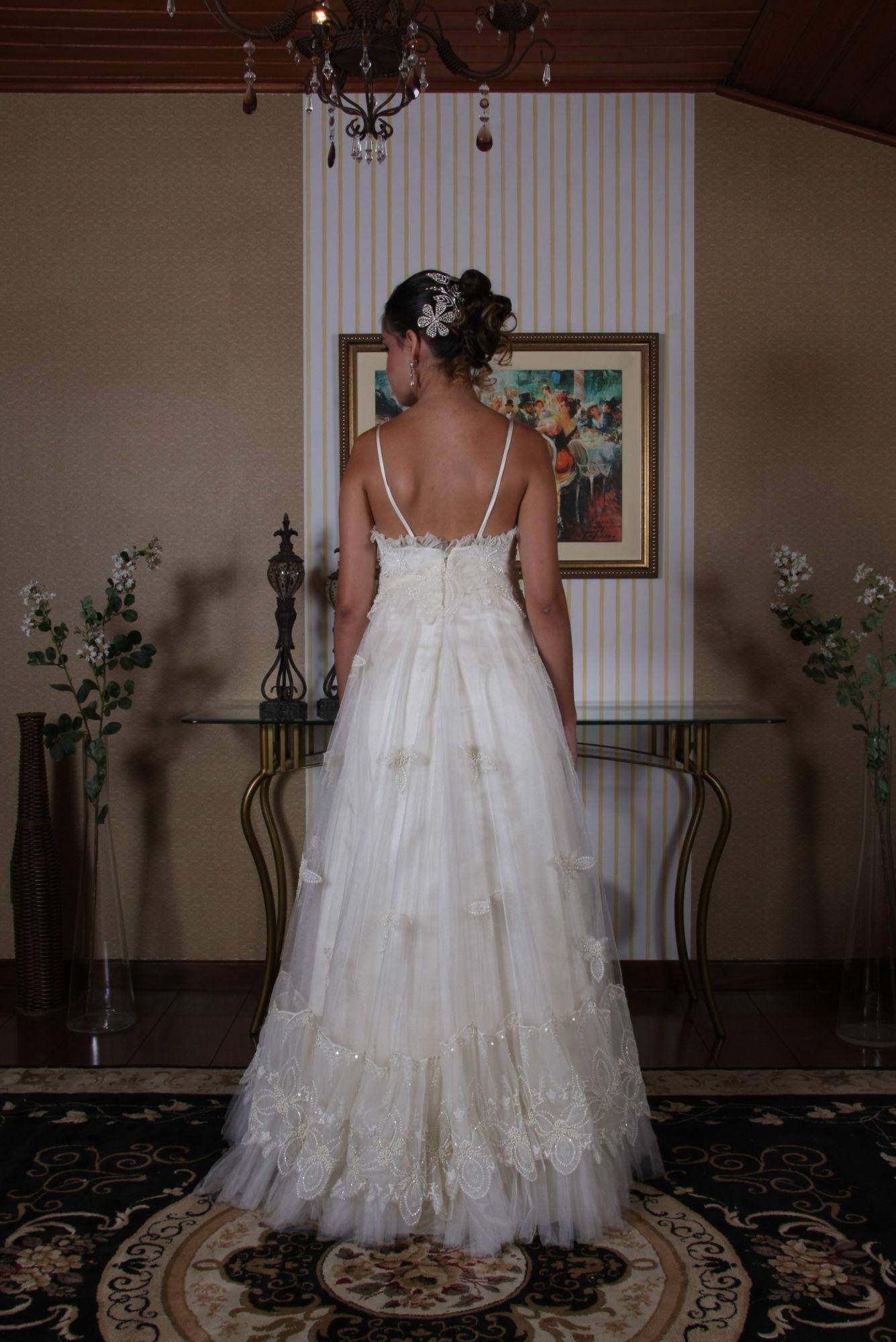 Vestido de Noiva Princesa - 3 - Hipnose Alta Costura e Spa para Noivas e Noivos - Campinas - SP Vestido de Noiva, Vestido de Noiva Princesa, Hipnose Alta Costura