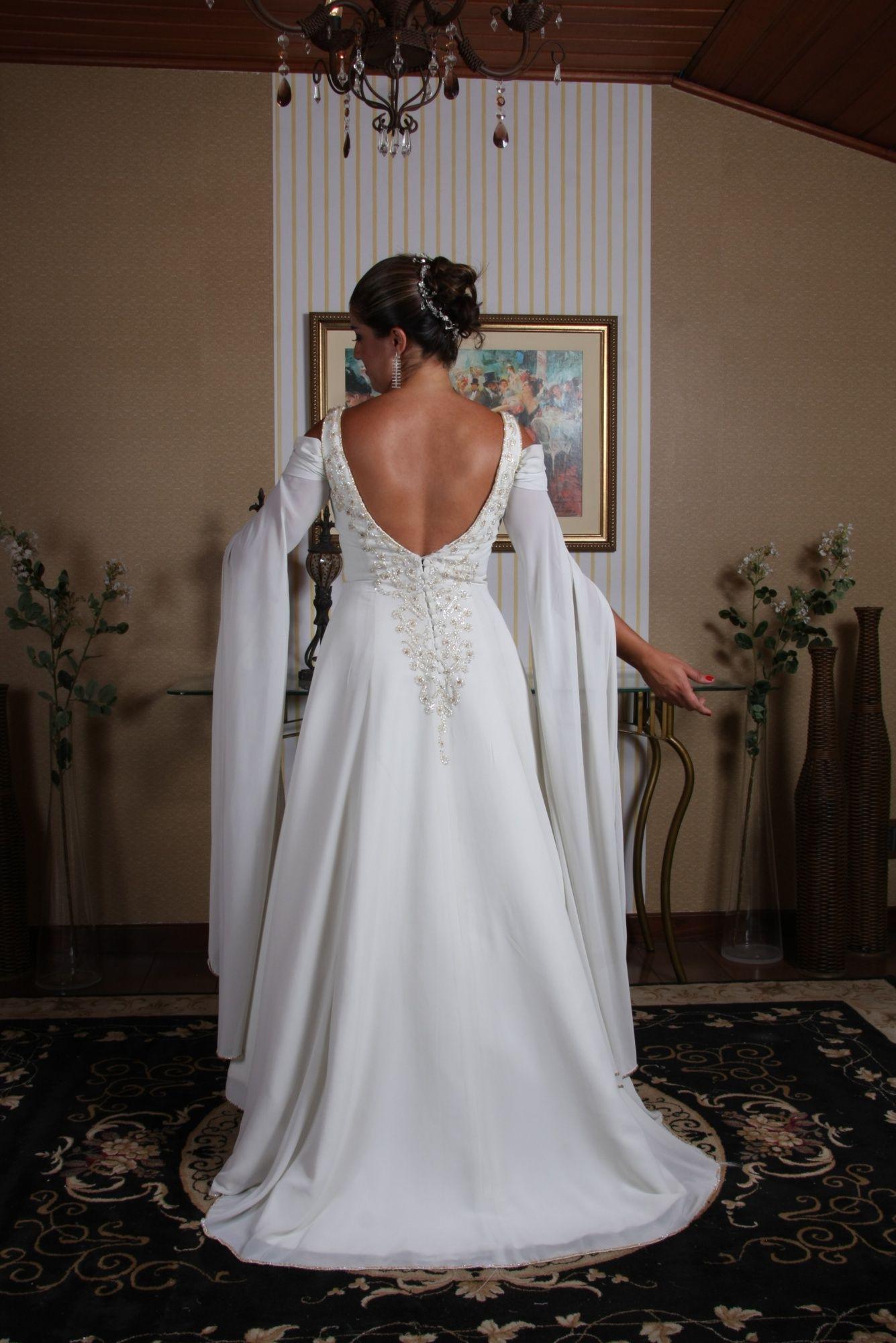 Vestido de Noiva Princesa - 8 - Hipnose Alta Costura e Spa para Noivas e Noivos - Campinas - SP Vestido de Noiva, Vestido de Noiva Princesa, Hipnose Alta Costura