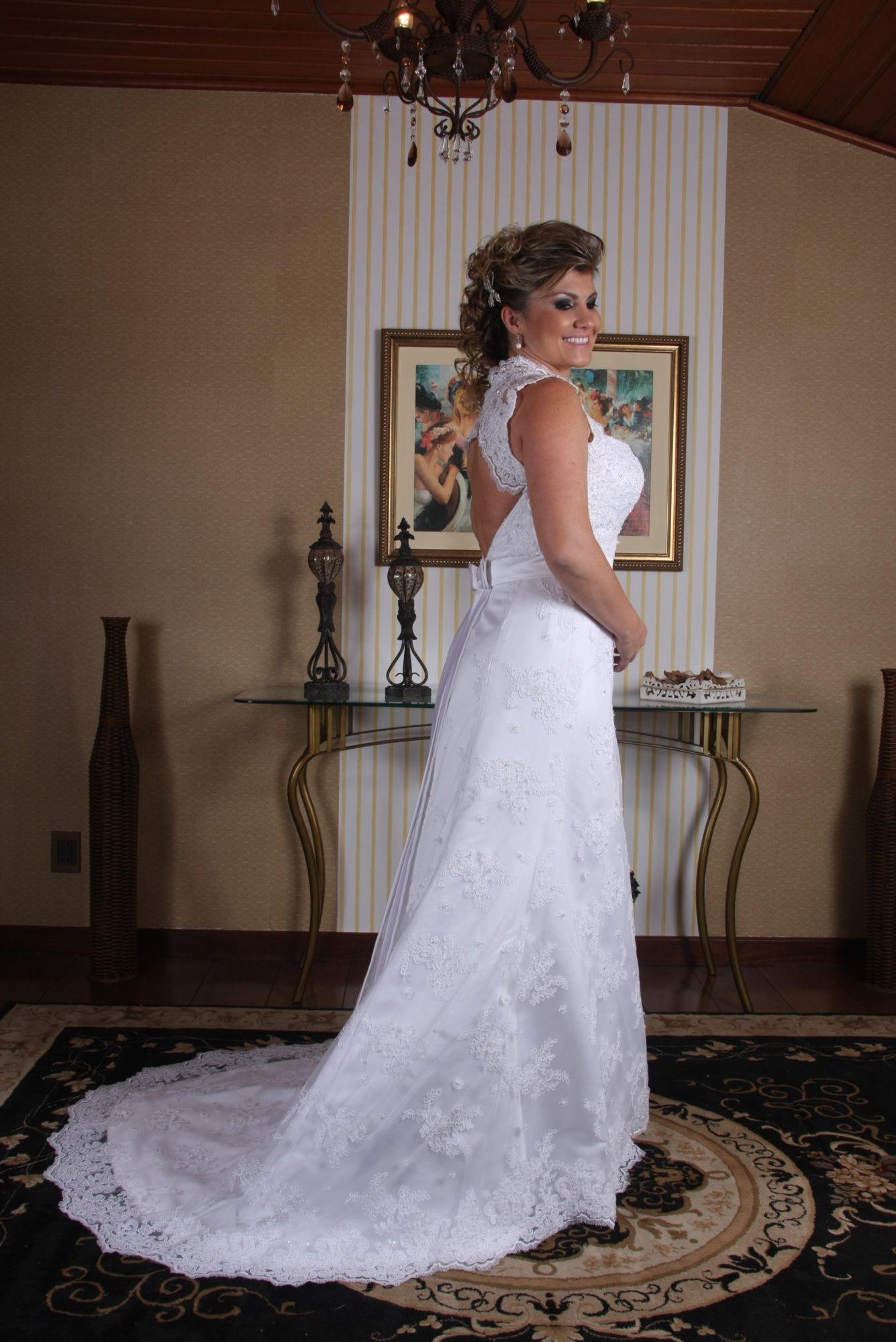 Vestido de Noiva Semi Sereia - 6 - Hipnose Alta Costura e Spa para Noivas e Noivos - Campinas - SP Vestido de Noiva, Vestido de Noiva Semi Sereia, Hipnose Alta Costura