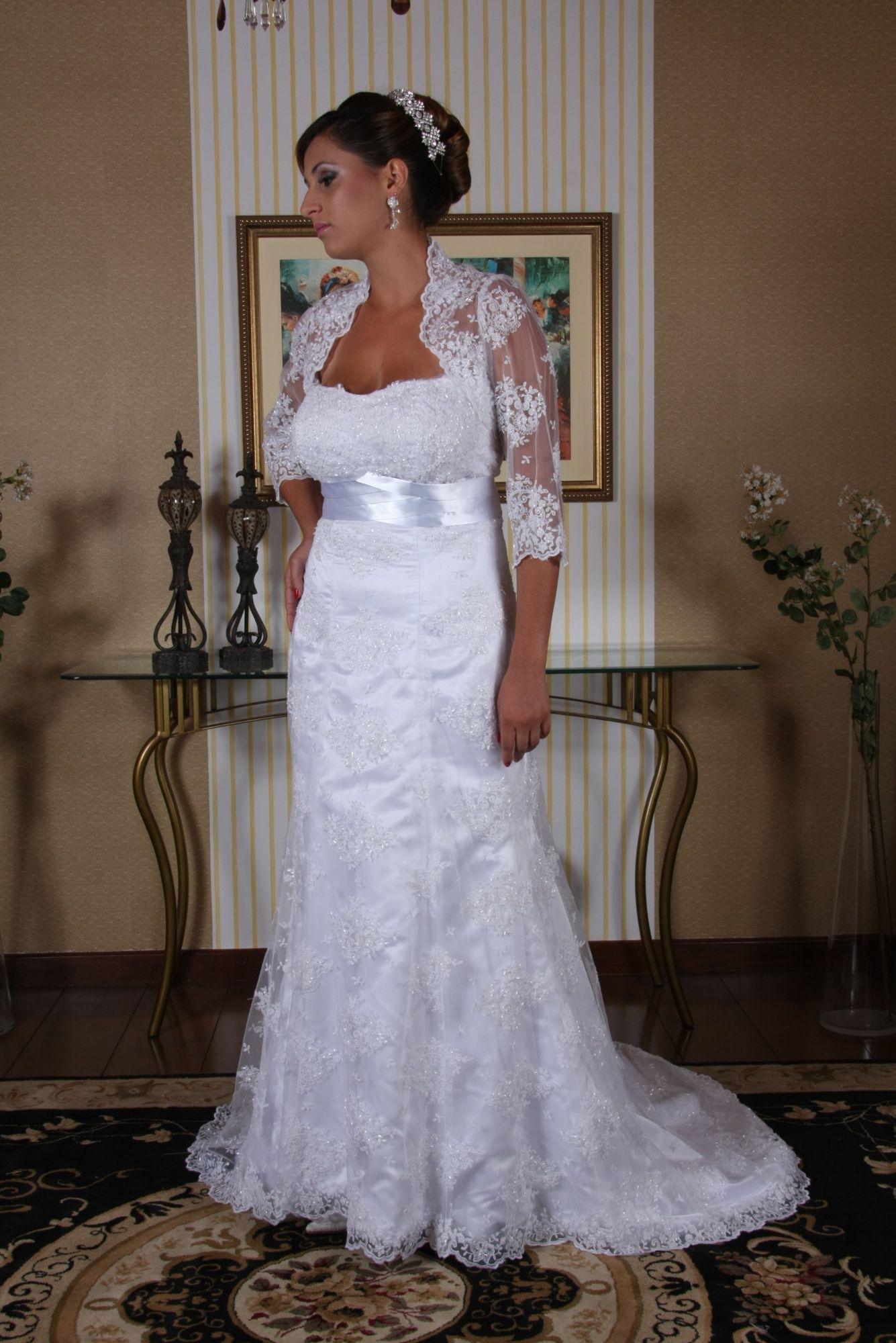 Vestido de Noiva Semi Sereia - 7 - Hipnose Alta Costura e Spa para Noivas e Noivos - Campinas - SP Vestido de Noiva, Vestido de Noiva Semi Sereia, Hipnose Alta Costura
