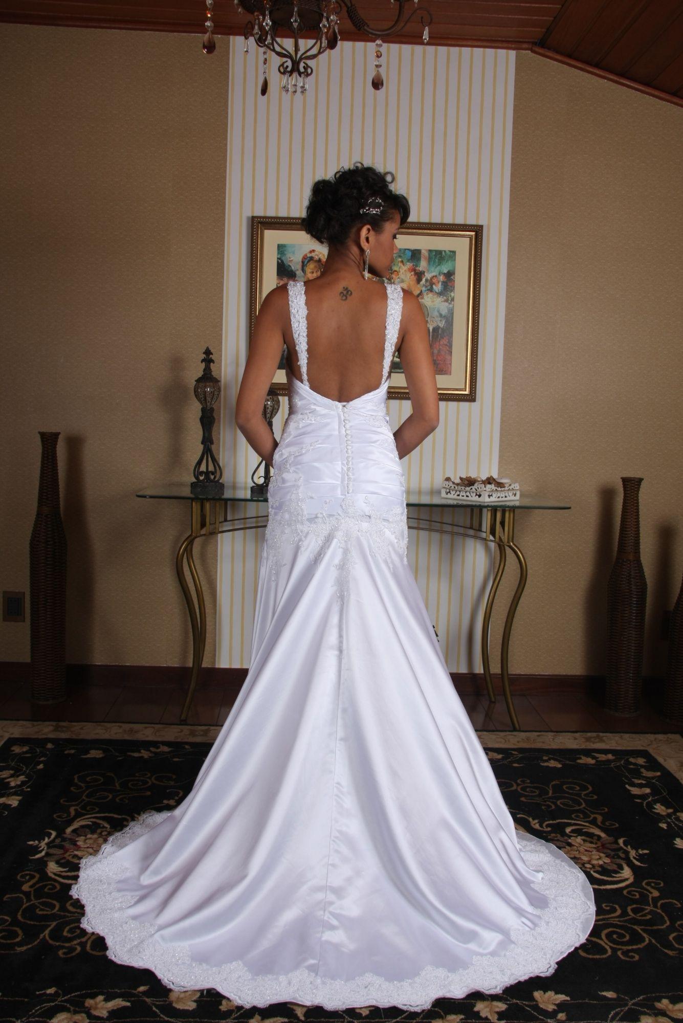 Vestido de Noiva Semi Sereia - 8 - Hipnose Alta Costura e Spa para Noivas e Noivos - Campinas - SP Vestido de Noiva, Vestido de Noiva Semi Sereia, Hipnose Alta Costura
