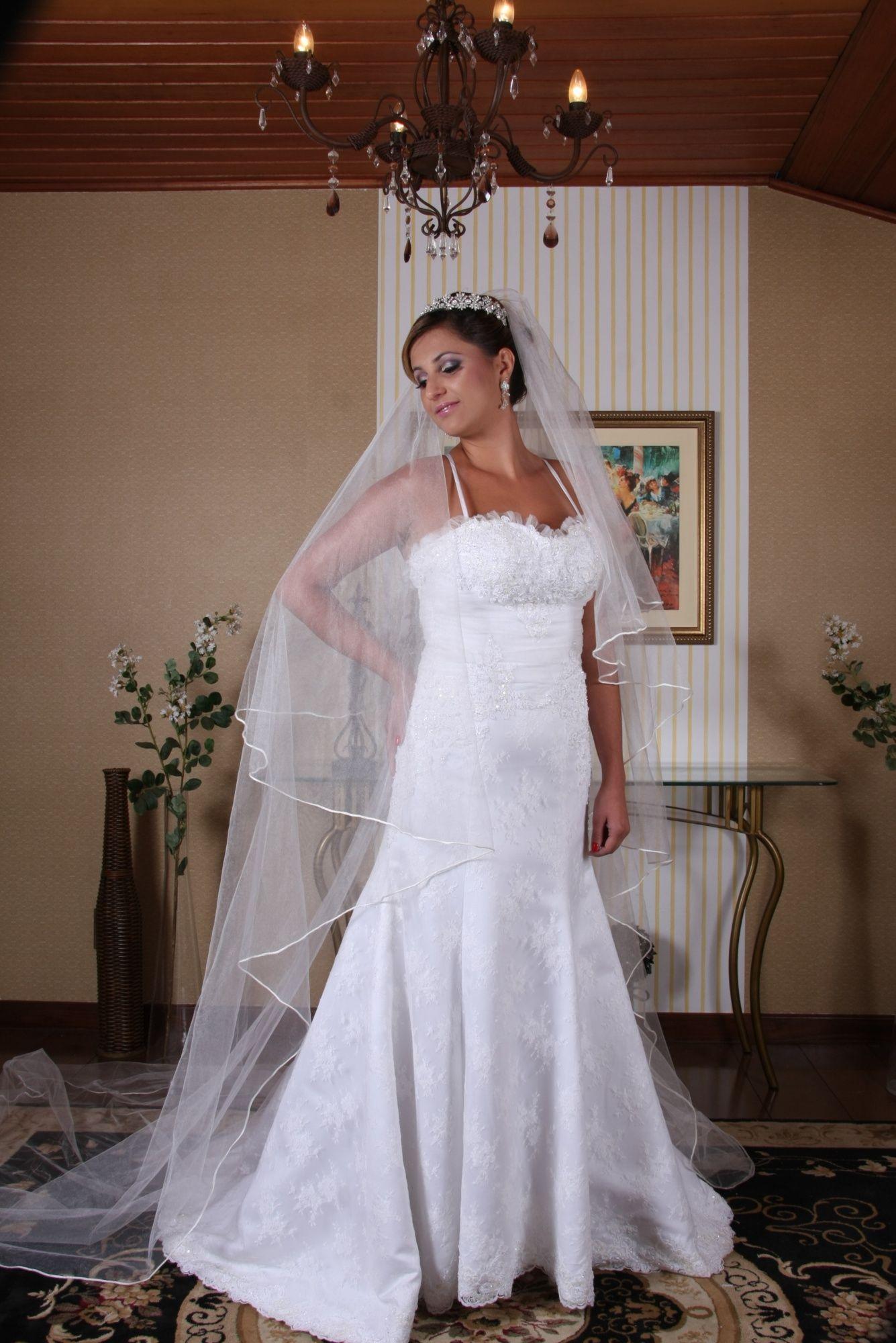 Vestido de Noiva Semi Sereia - 10 - Hipnose Alta Costura e Spa para Noivas e Noivos - Campinas - SP Vestido de Noiva, Vestido de Noiva Semi Sereia, Hipnose Alta Costura