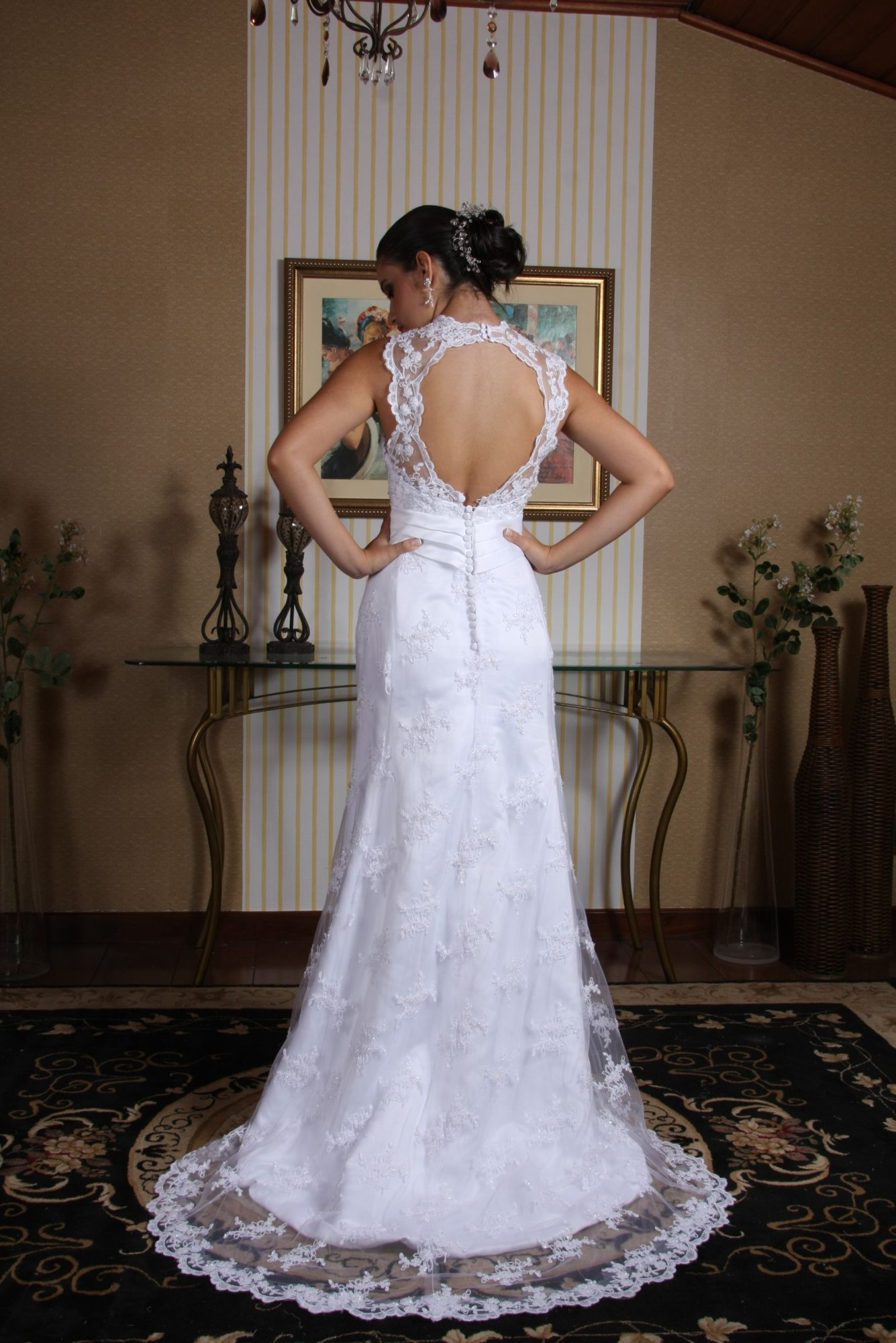 Vestido de Noiva Semi Sereia - 17 - Hipnose Alta Costura e Spa para Noivas e Noivos - Campinas - SP Vestido de Noiva, Vestido de Noiva Semi Sereia, Hipnose Alta Costura