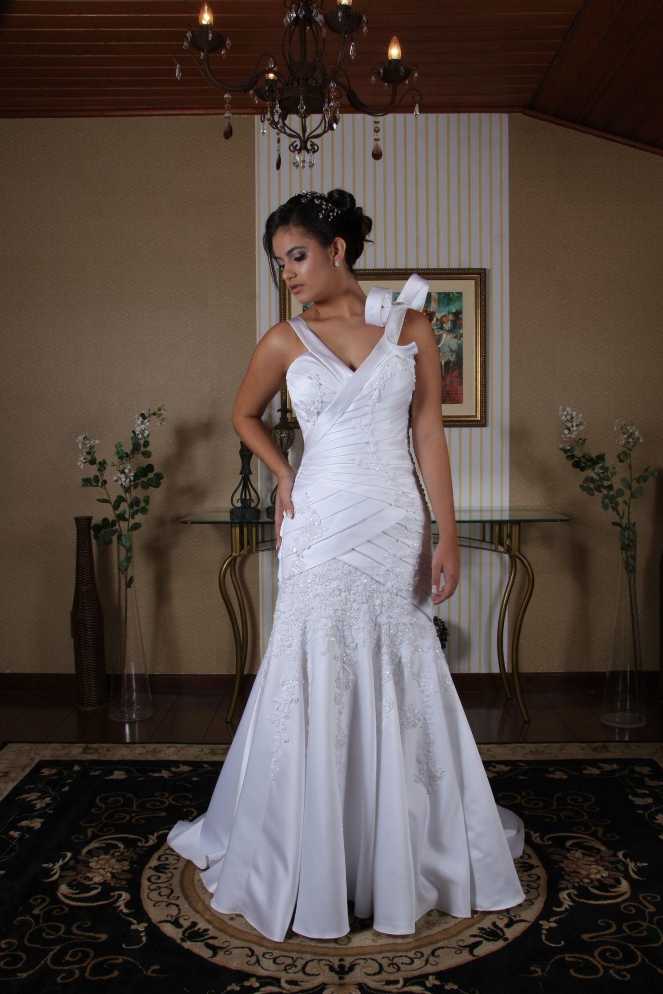 Vestido de Noiva Sereia - 2 - Hipnose Alta Costura e Spa para Noivas e Noivos - Campinas - SP Vestido de Noiva, Vestido de Noiva Sereia, Hipnose Alta Costura